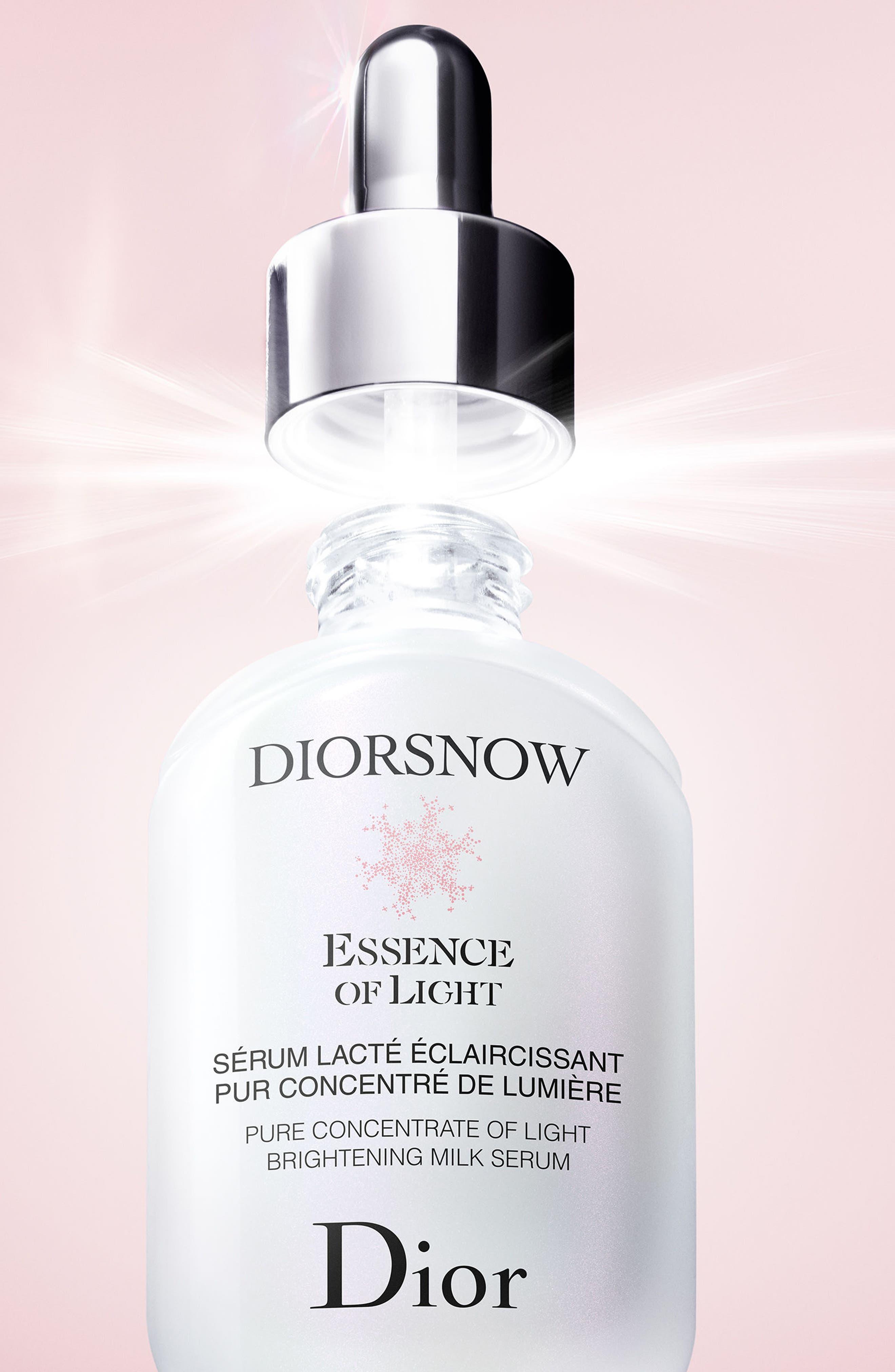 Diorsnow Essence of Light Brightening Milk Serum,                             Alternate thumbnail 4, color,                             NO COLOR