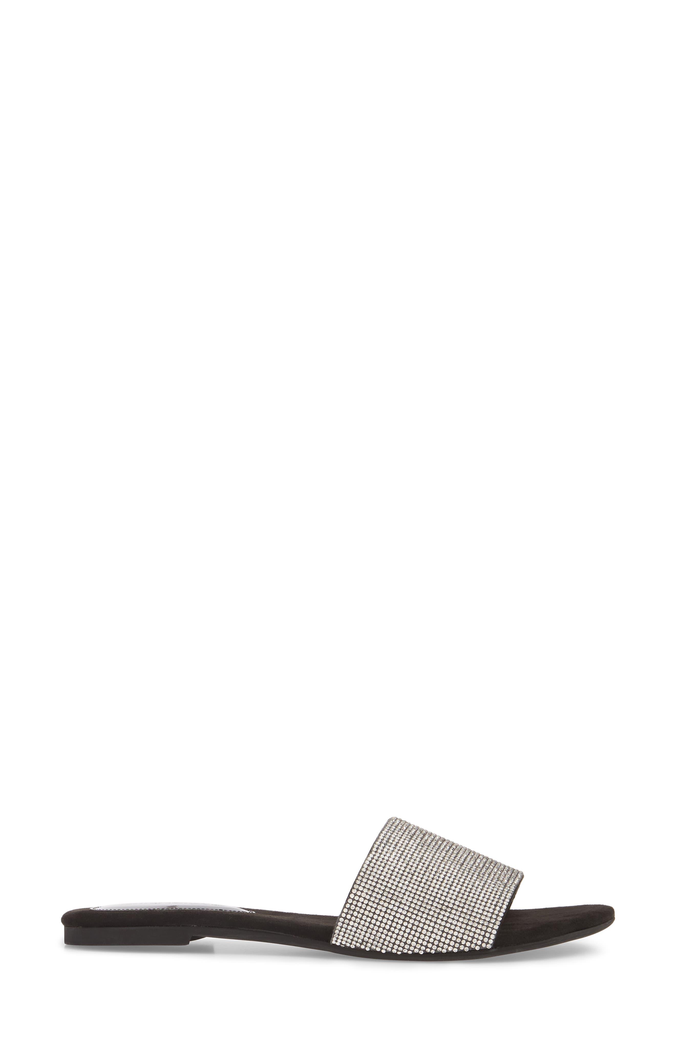 Sparque Embellished Slide Sandal,                             Alternate thumbnail 5, color,