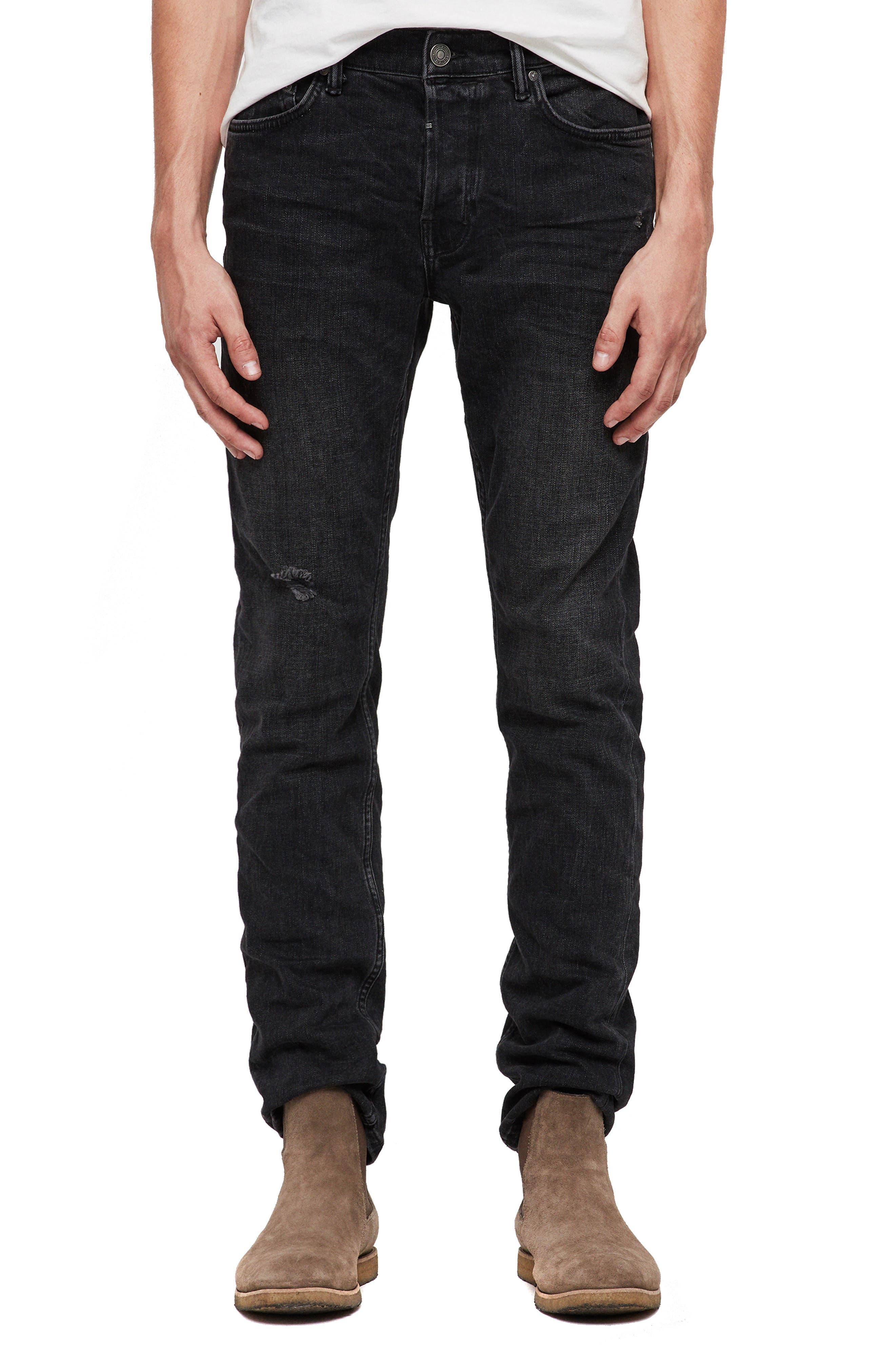 Rex Slim Fit Straight Leg Jeans,                             Main thumbnail 1, color,                             005