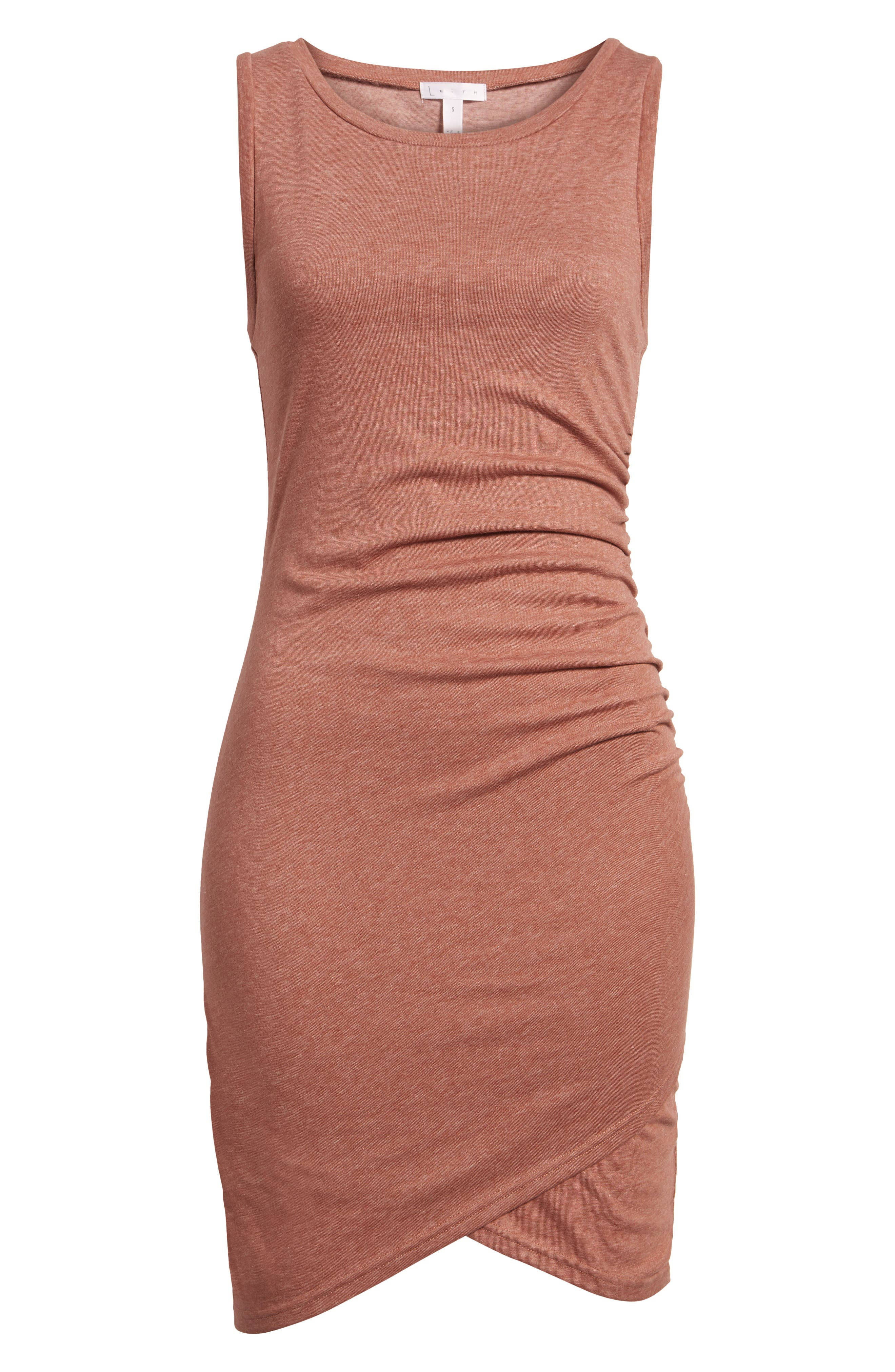 Ruched Body-Con Tank Dress,                             Alternate thumbnail 194, color,