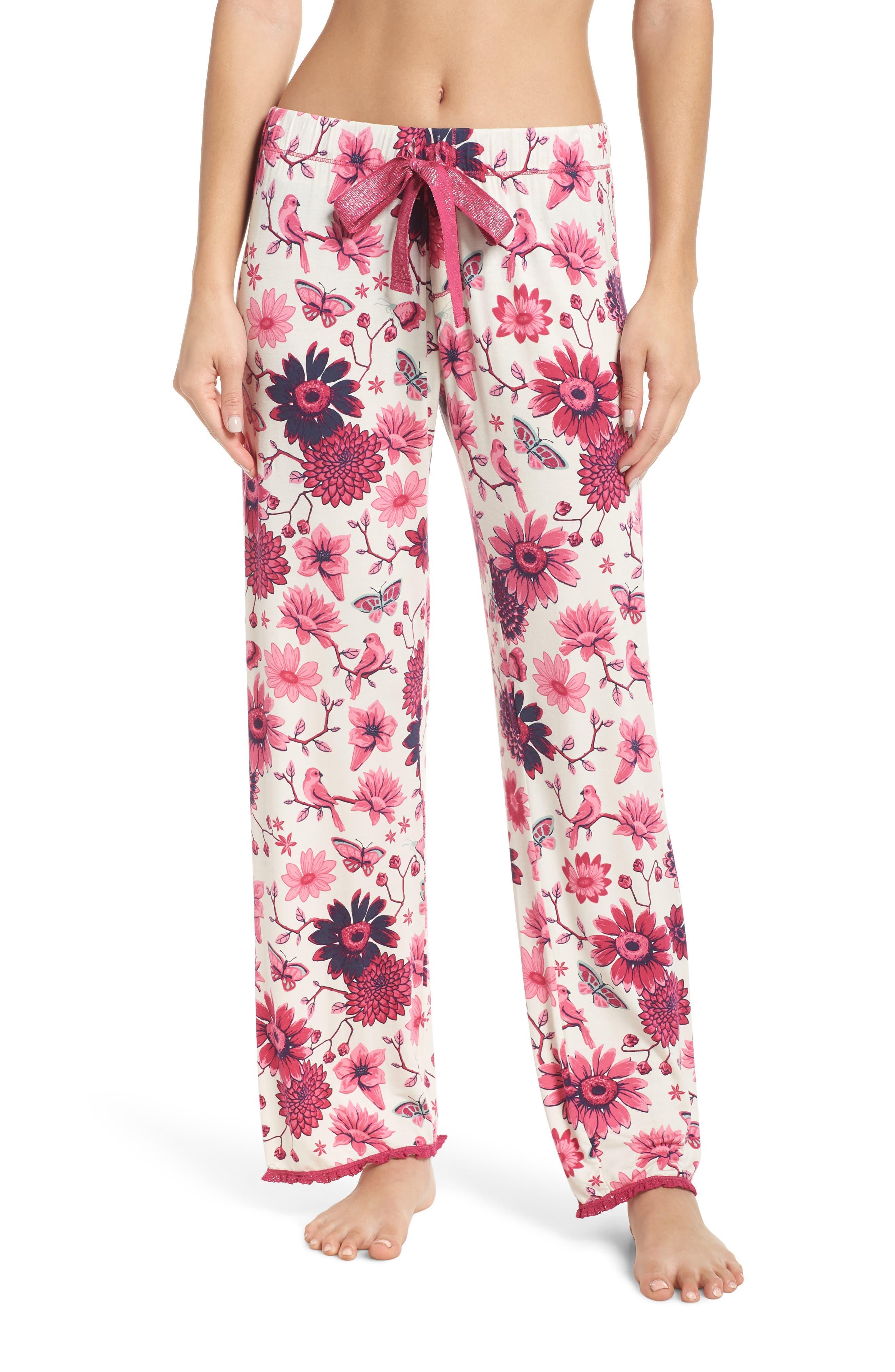 Hatley Cozy Pajama Pants, Ivory