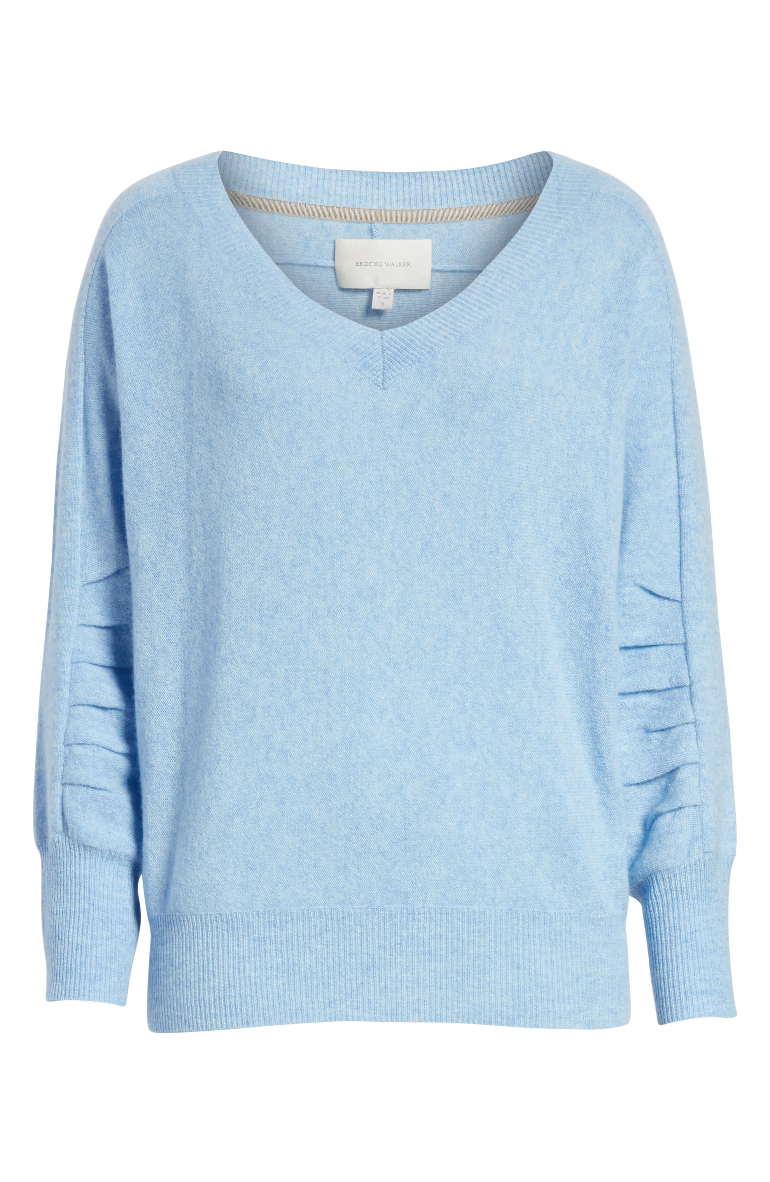 Weller Cashmere Sweater,                             Alternate thumbnail 12, color,