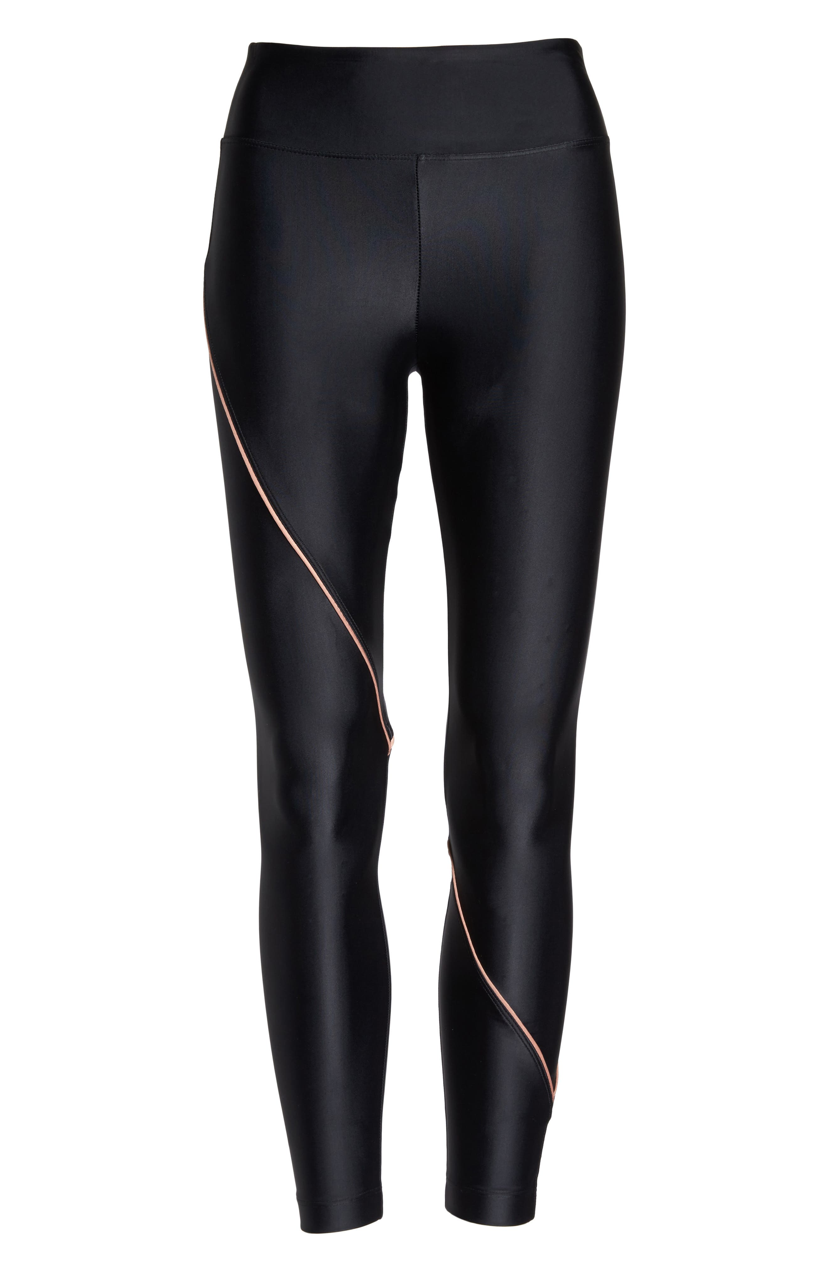 Street Leggings,                             Alternate thumbnail 7, color,                             BLACK