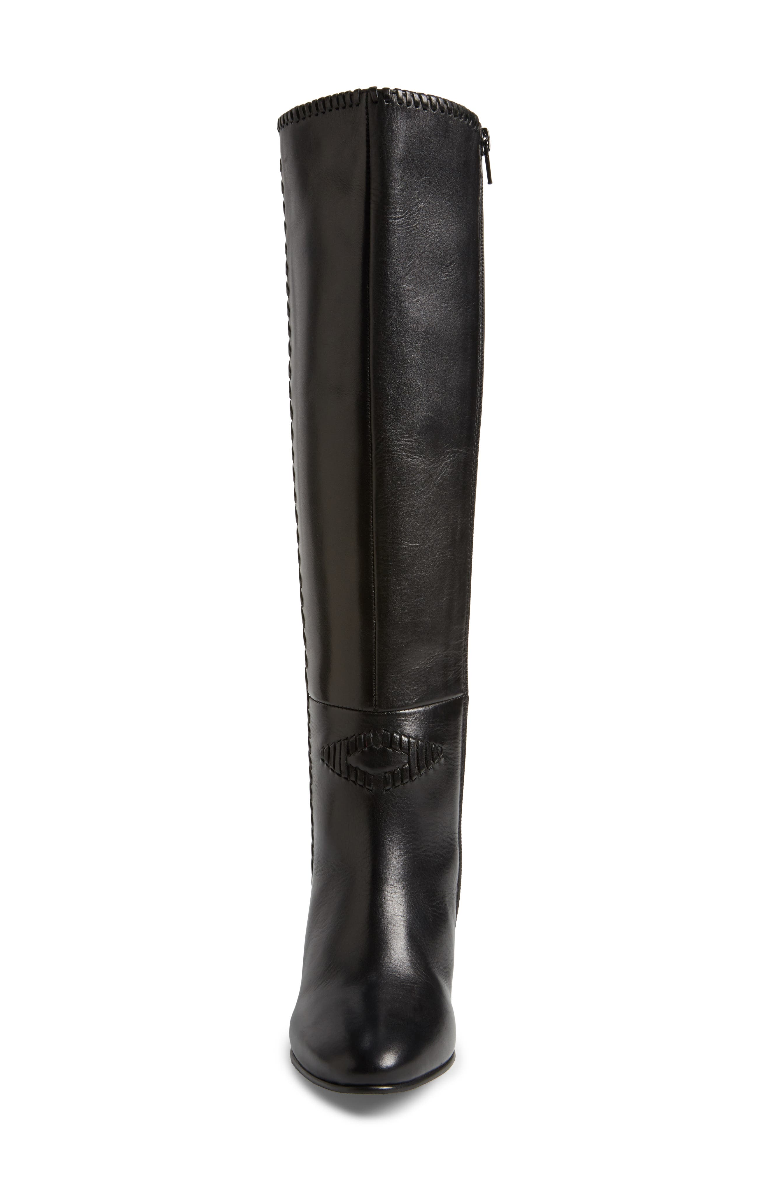 Reserved Knee High Boot,                             Alternate thumbnail 4, color,                             001