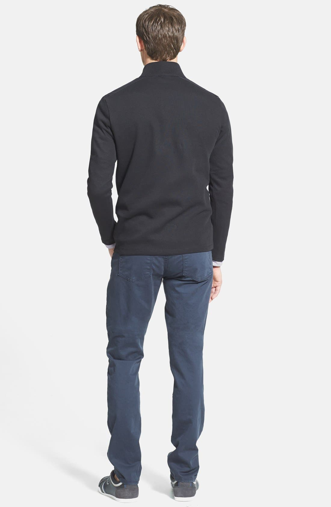 'Kane' Slim Fit Cotton Twill Pants,                             Alternate thumbnail 79, color,