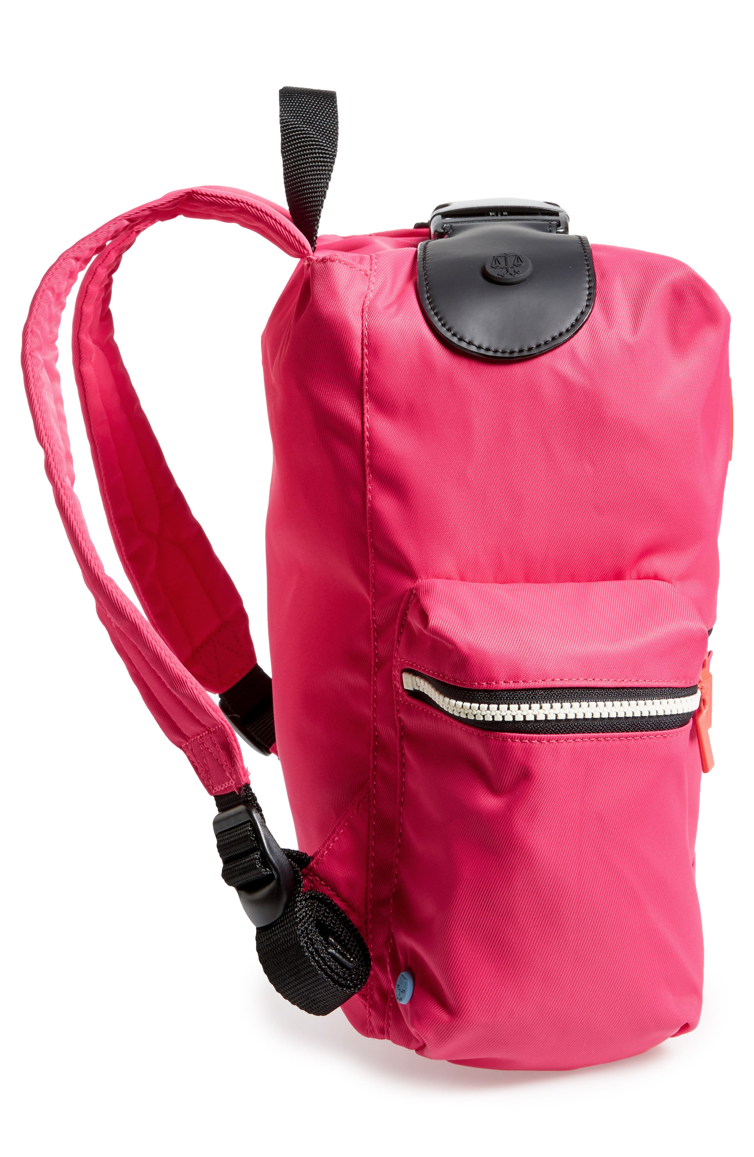 Original Mini Top Clip Nylon Backpack,                             Alternate thumbnail 15, color,