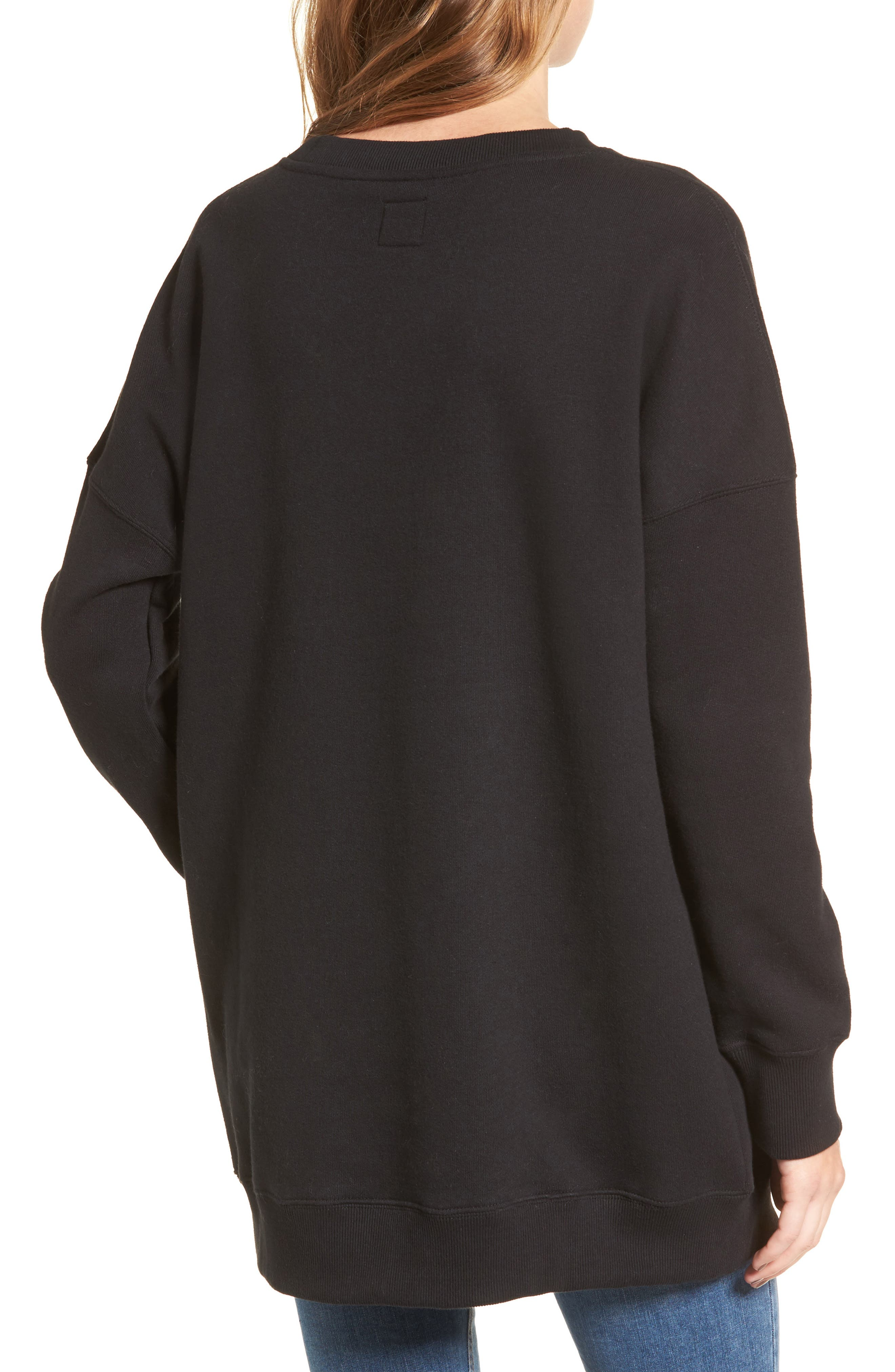 Me Too Sweatshirt,                             Alternate thumbnail 2, color,                             001