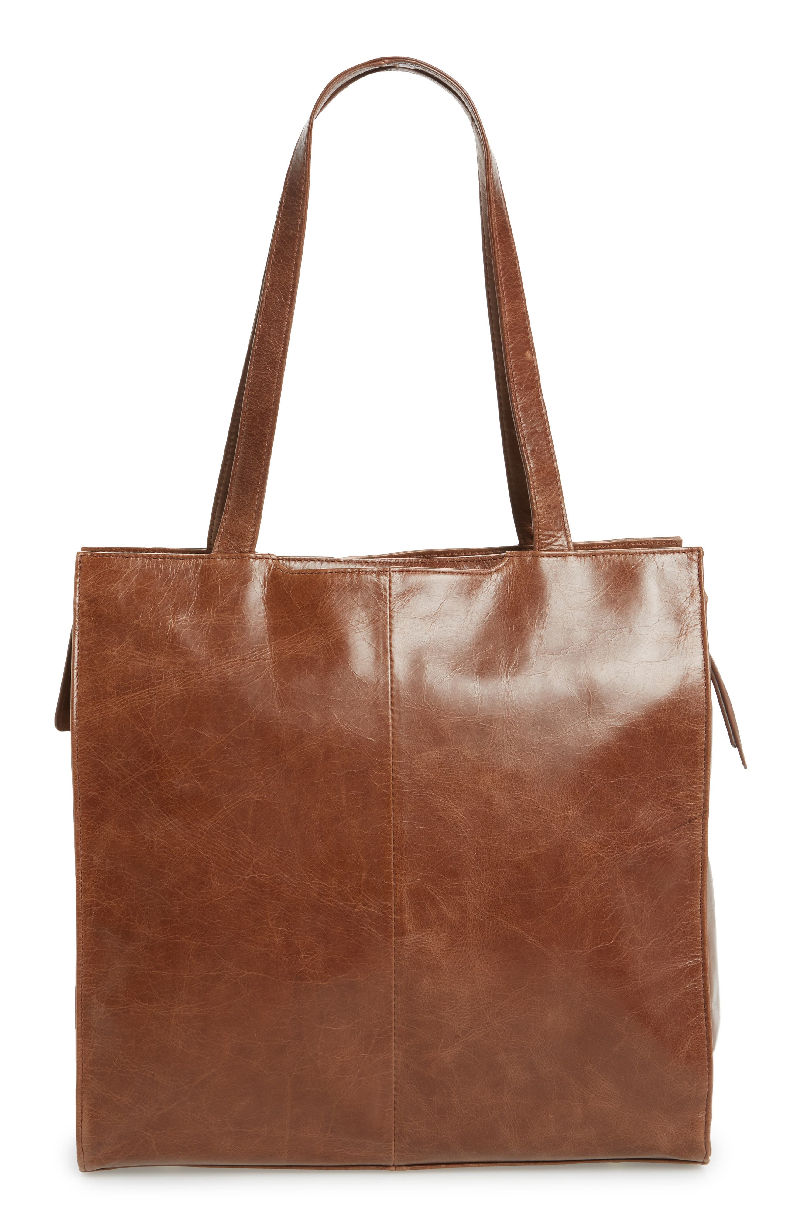 Avalon Studded Calfskin Leather Tote,                             Alternate thumbnail 9, color,