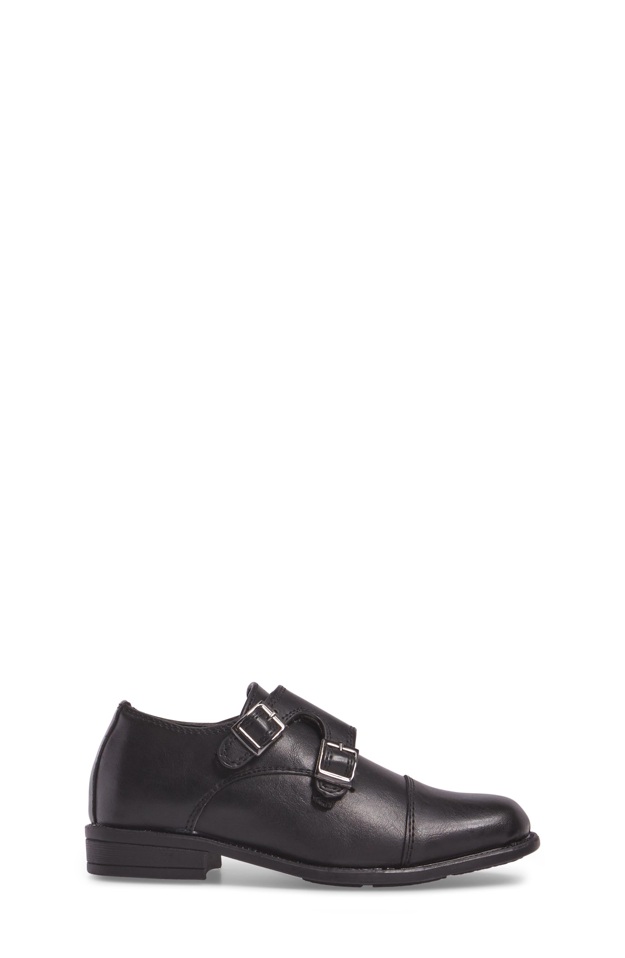 Double Monk Strap Shoe,                             Alternate thumbnail 3, color,                             006
