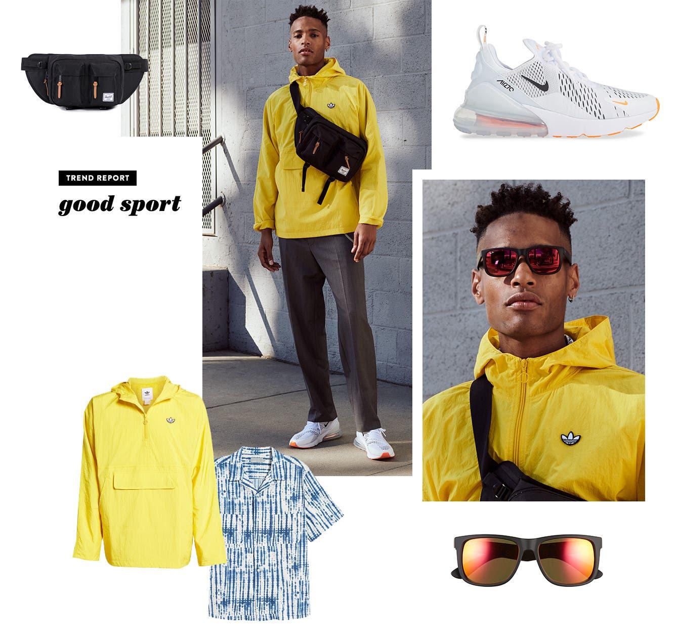 Men's what's now trend: Good Sport.