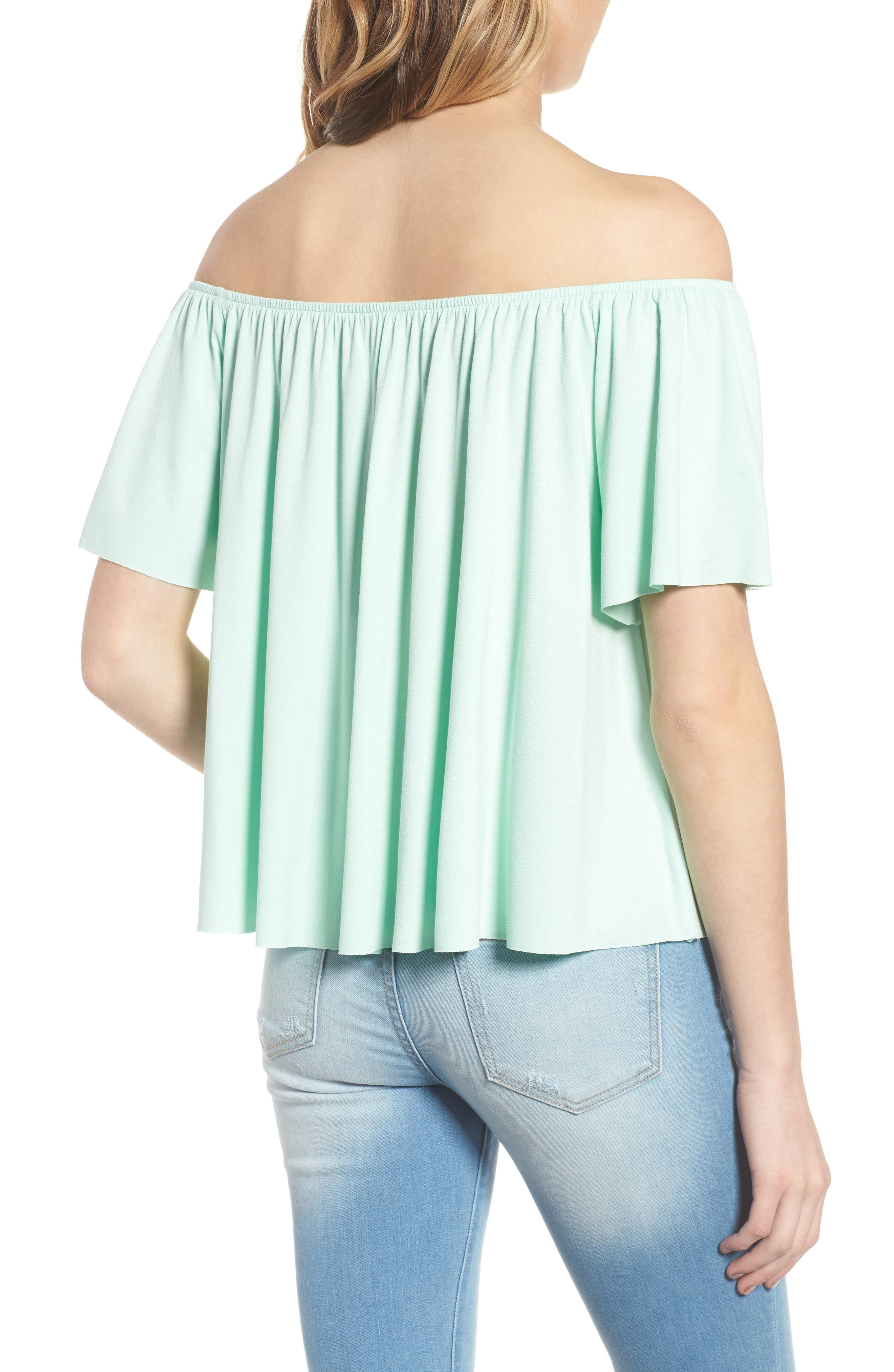 Off the Shoulder Top,                             Alternate thumbnail 10, color,