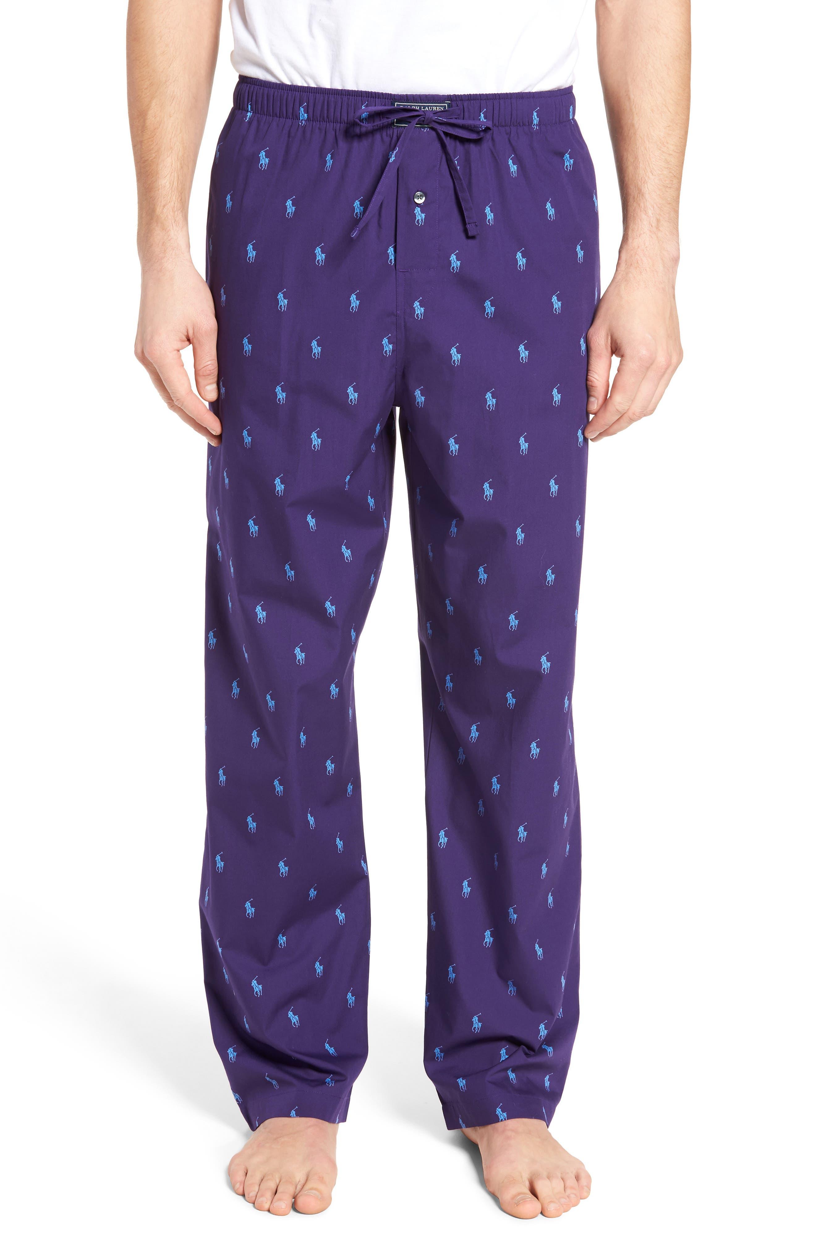 Polo Ralph Lauren Cotton Lounge Pants,                             Main thumbnail 4, color,