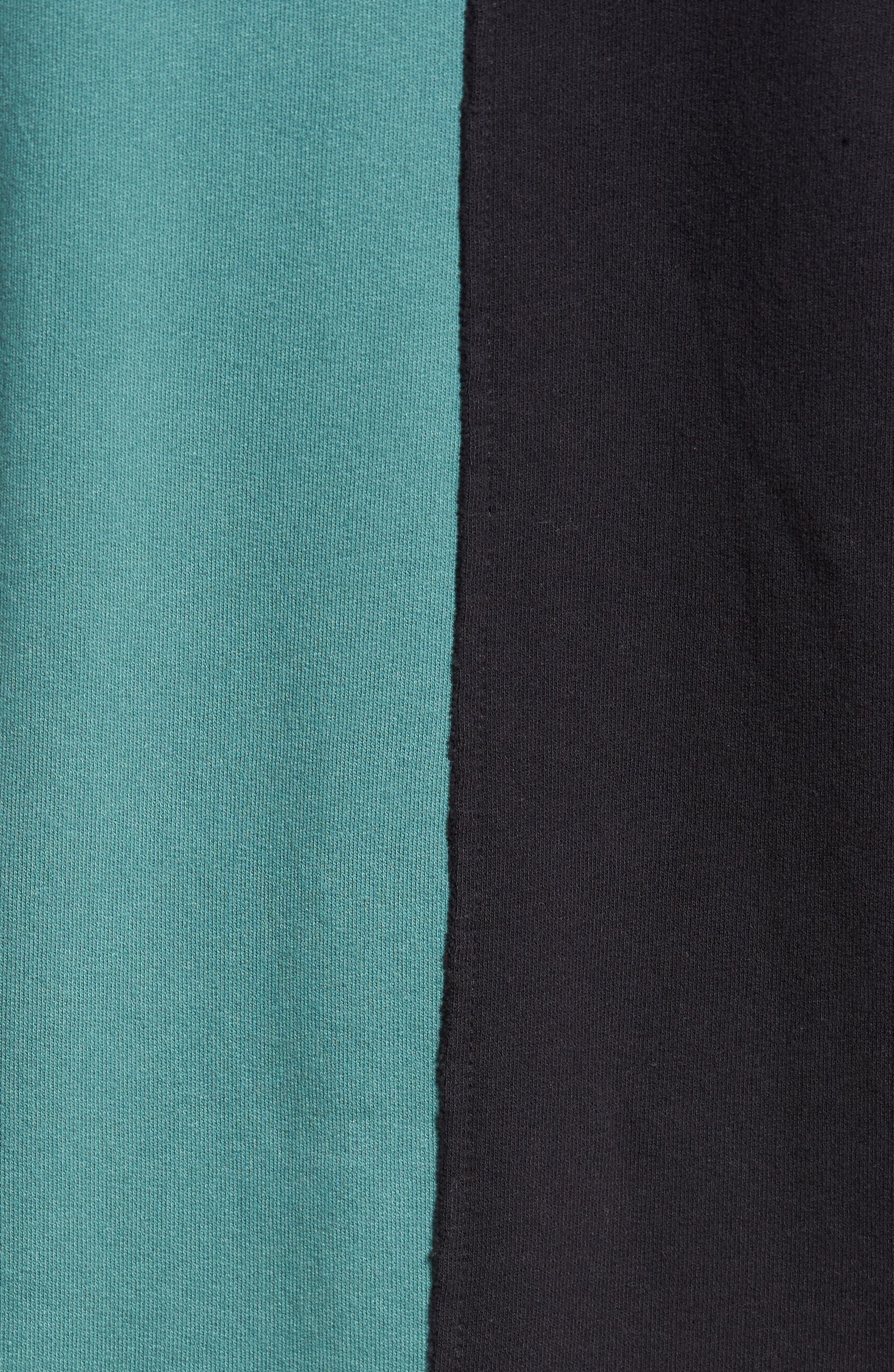 Colorblock T-Shirt,                             Alternate thumbnail 5, color,                             001