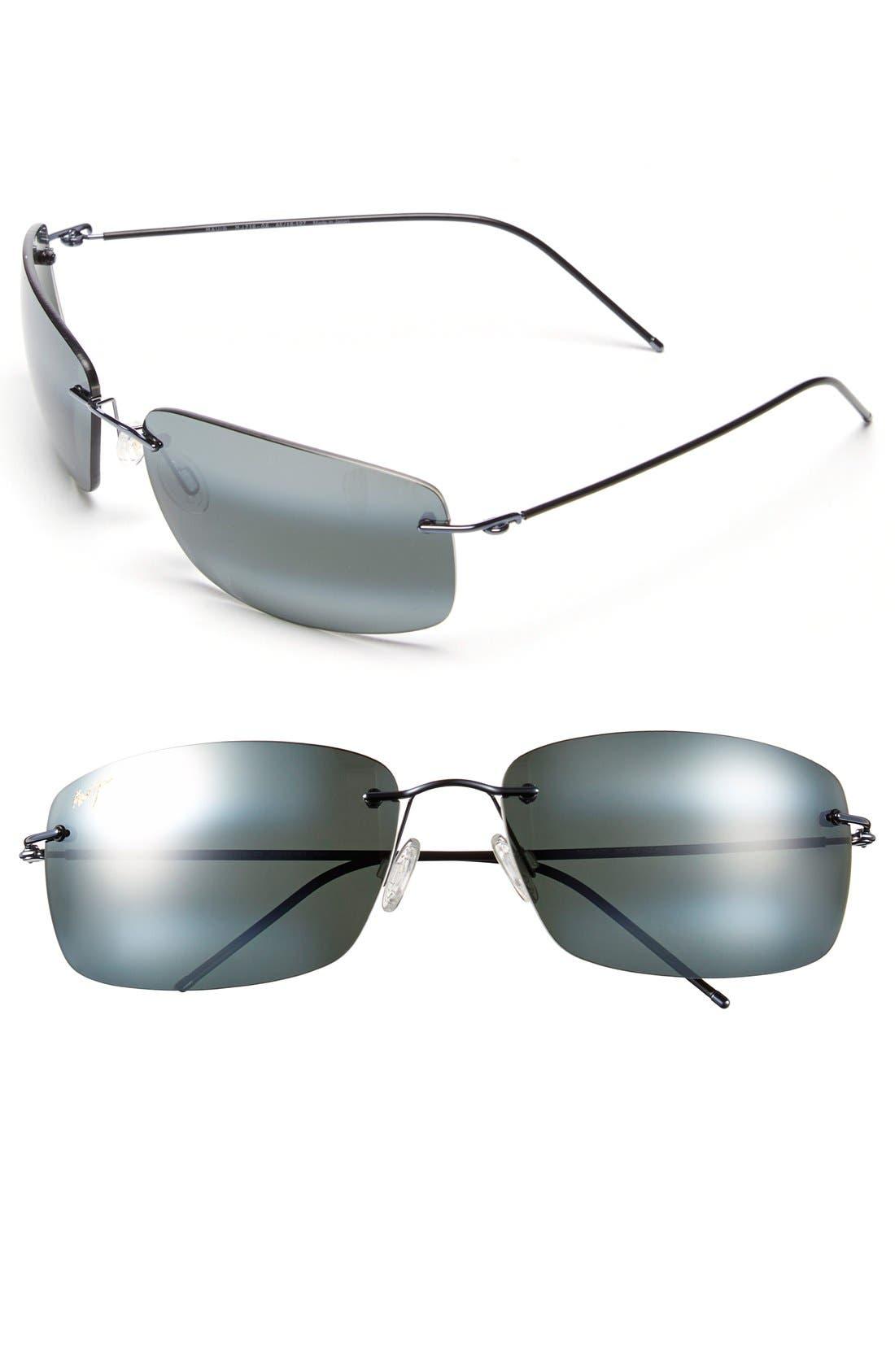 'Frigate - PolarizedPlus<sup>®</sup>2' 65mm Polarized Sunglasses,                             Main thumbnail 2, color,