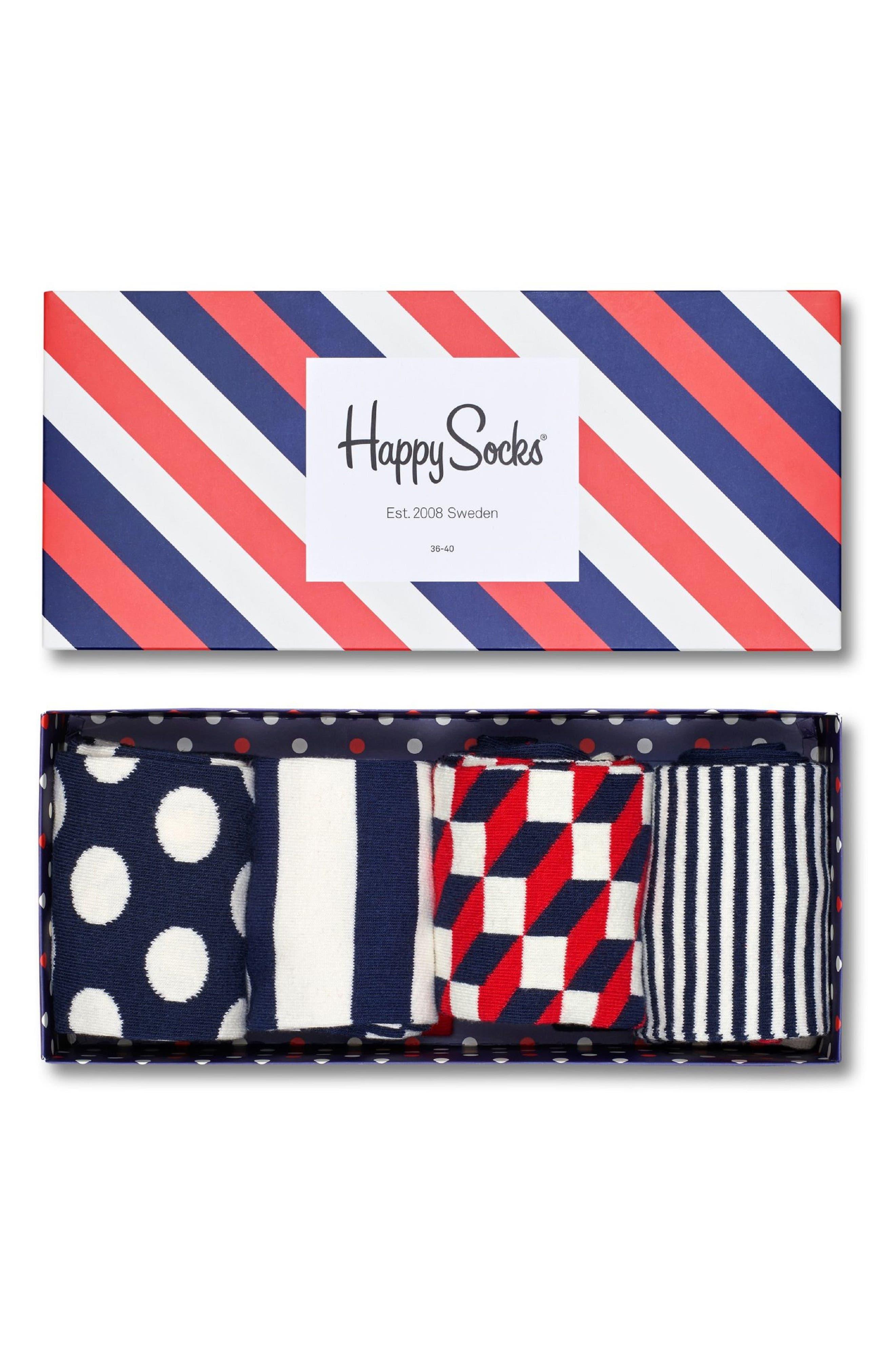 4-Pack Sock Gift Set,                             Alternate thumbnail 2, color,