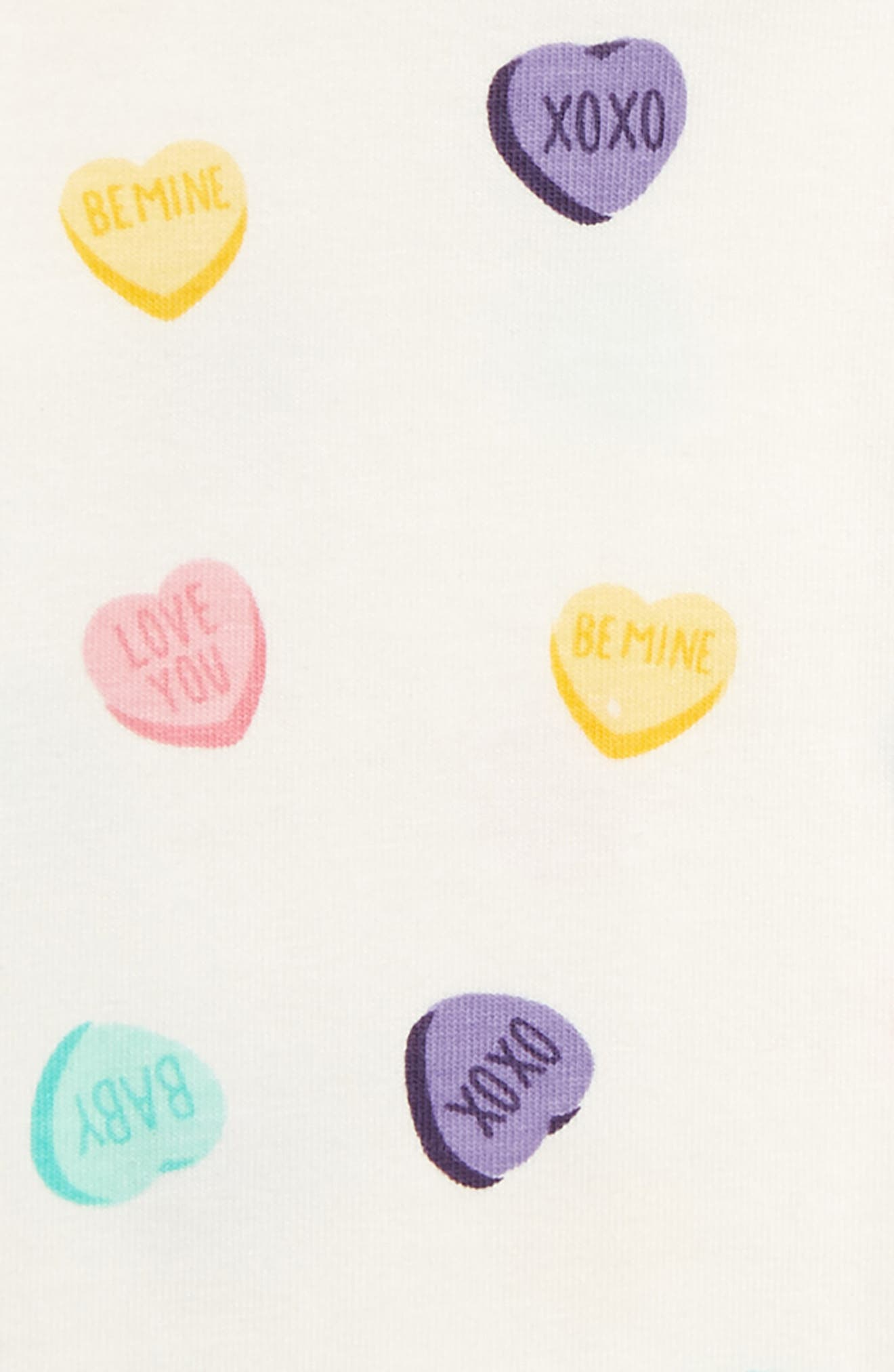 Jack & Jill Bodysuit,                             Alternate thumbnail 2, color,                             SWEET HEARTS