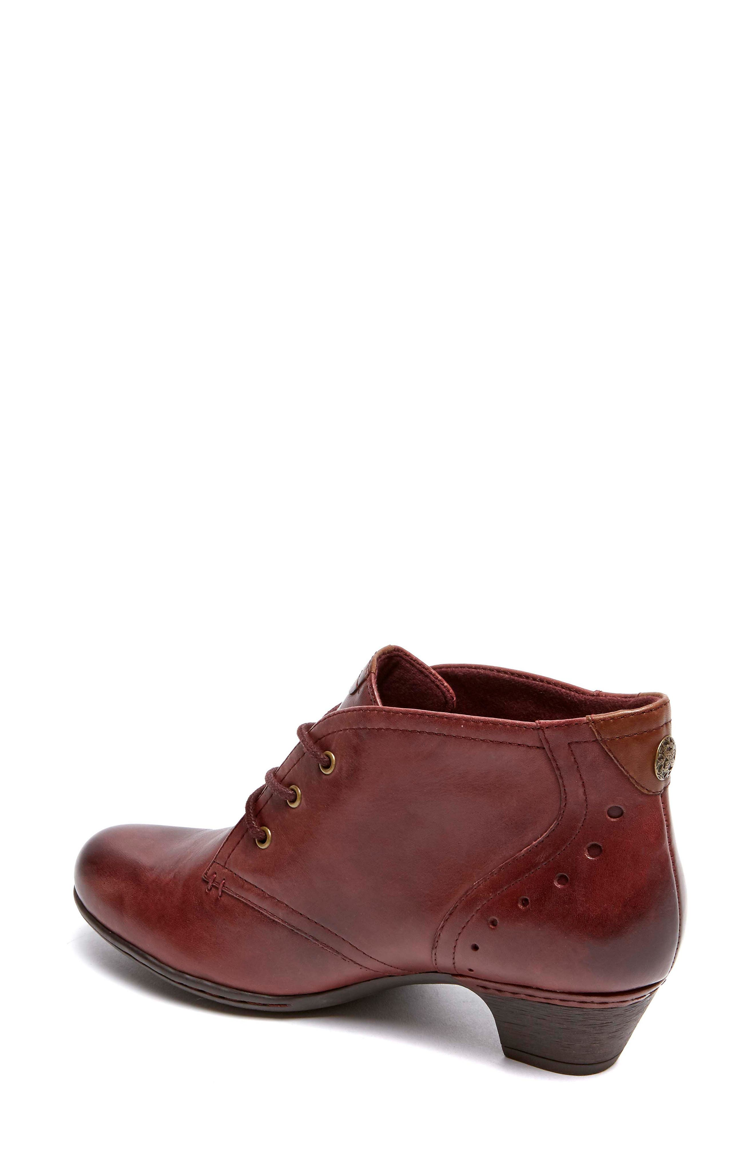 Aria Leather Boot,                             Alternate thumbnail 2, color,                             MERLOT LEATHER