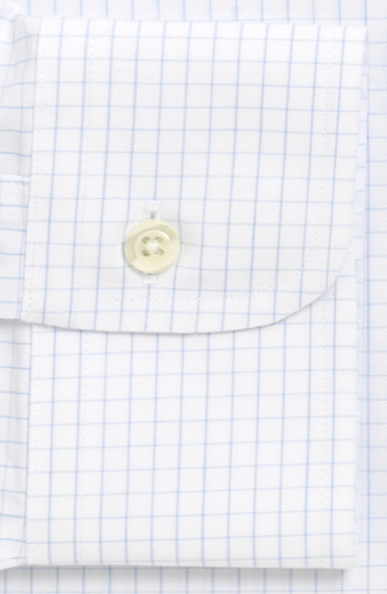 Classic Fit Check Dress Shirt,                             Alternate thumbnail 2, color,                             LIGHT/ PASTEL BLUE