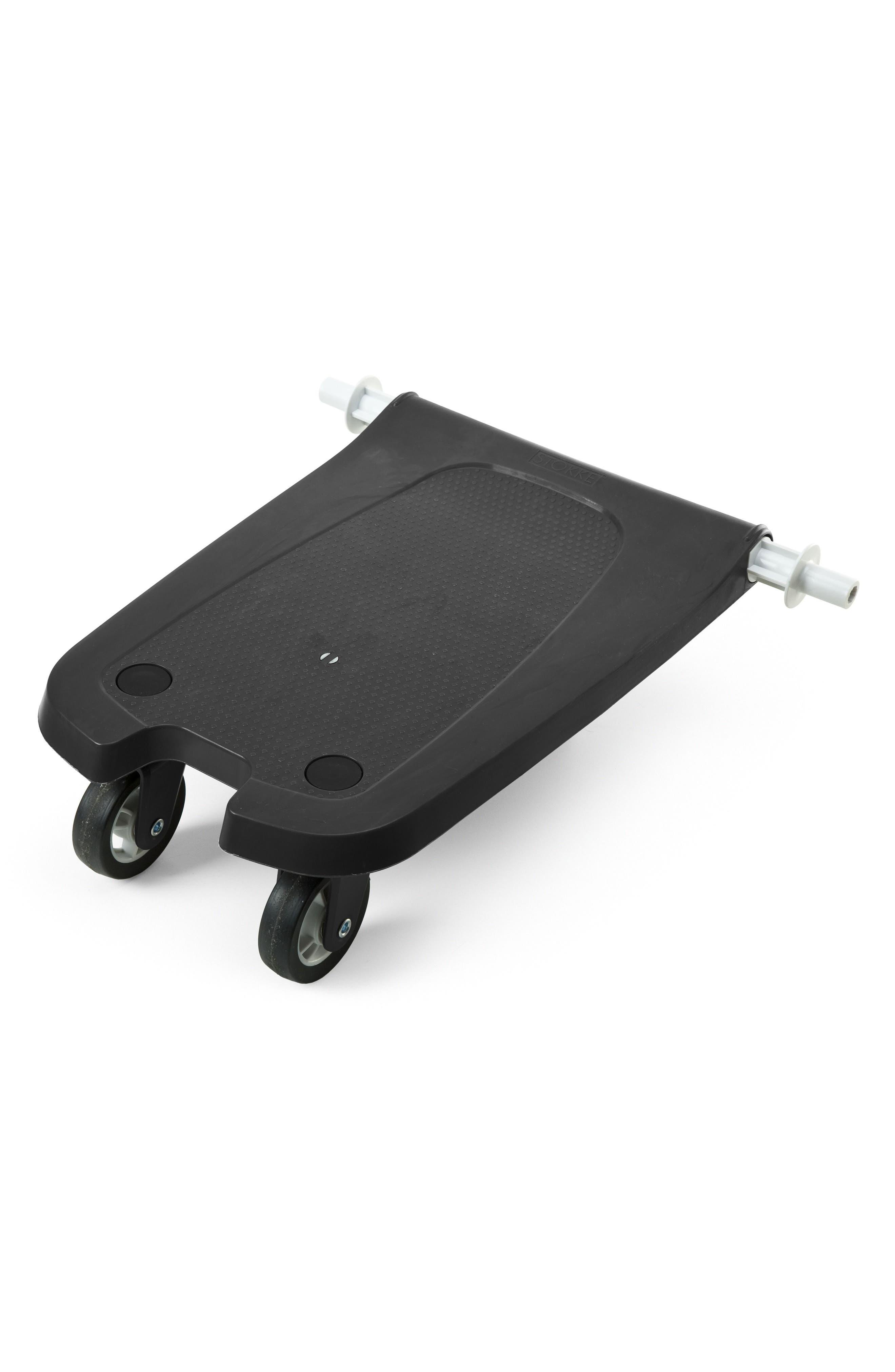 Xplory<sup>®</sup> Sibling Board Stroller Rider,                             Main thumbnail 1, color,                             BLACK