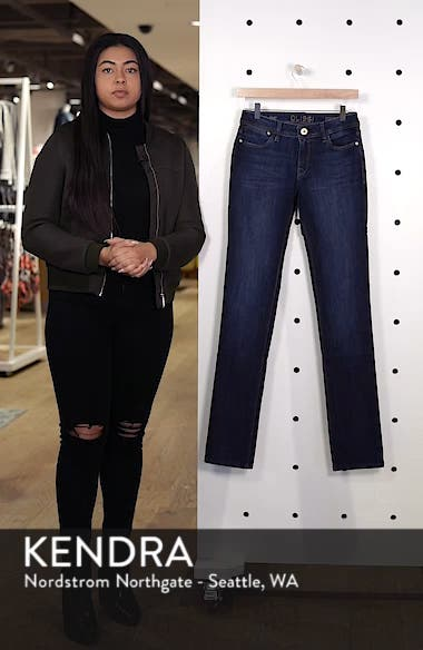 'Coco' Curvy Straight Jeans, sales video thumbnail