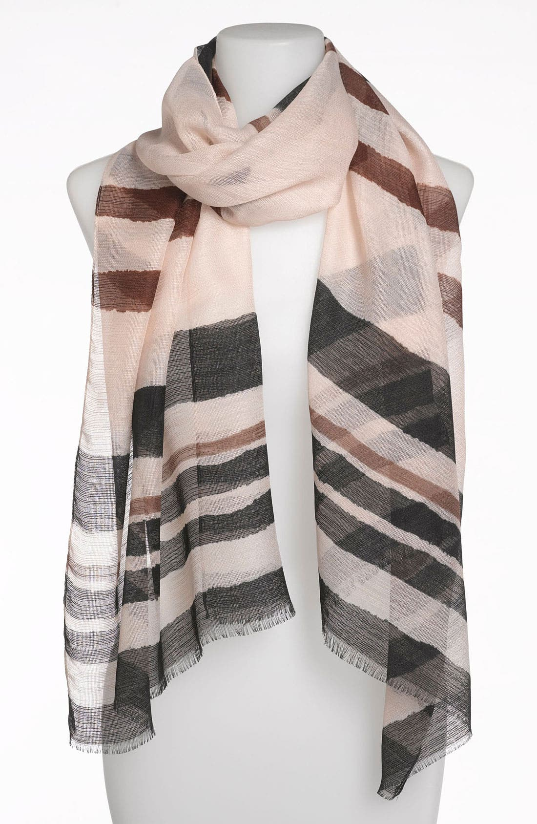 Stripe Scarf,                             Main thumbnail 1, color,                             001