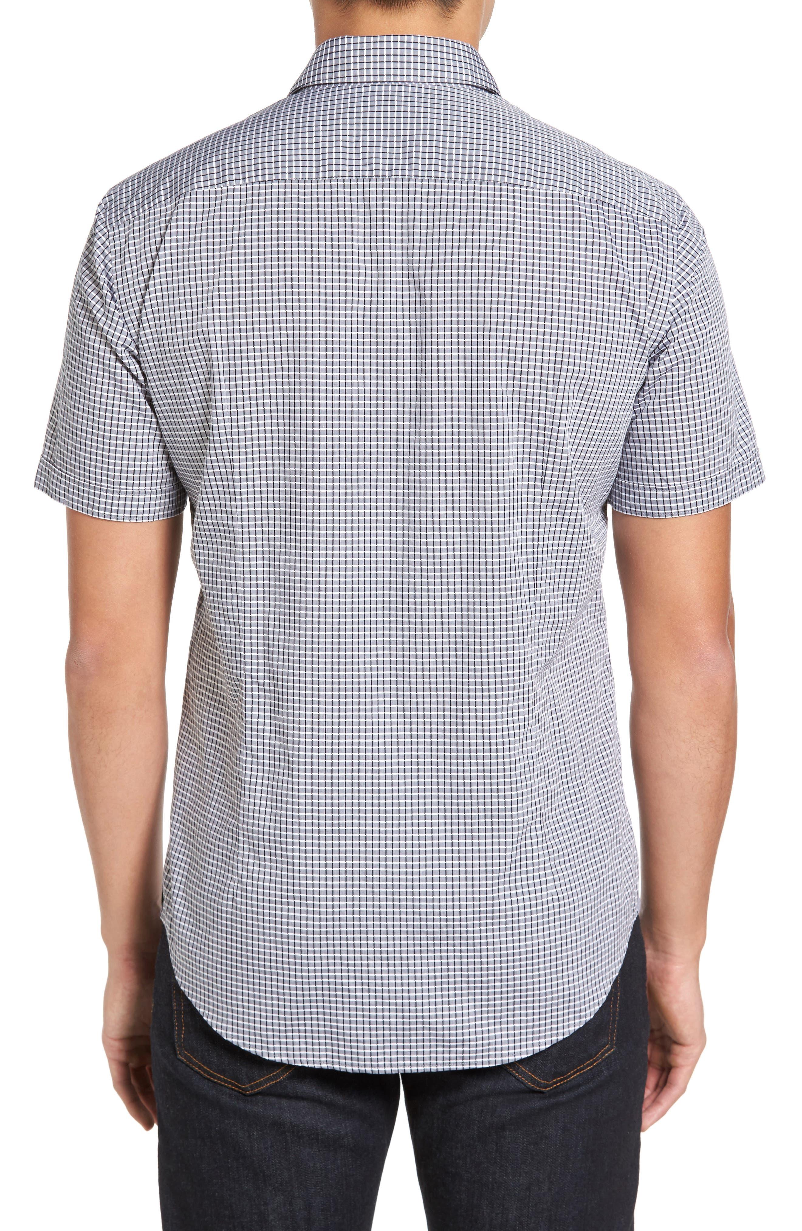 Ronn Check Sport Shirt,                             Alternate thumbnail 2, color,                             402
