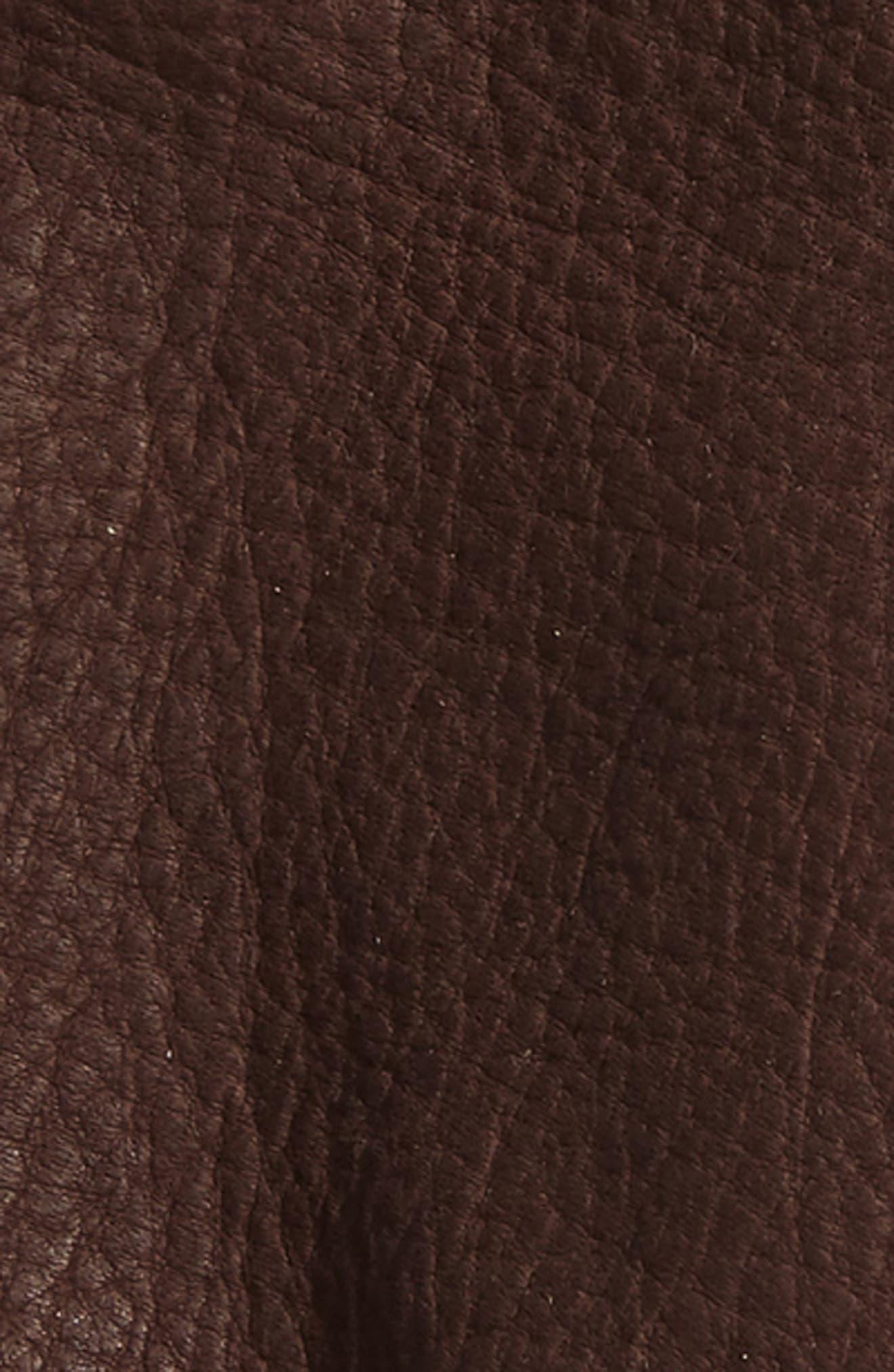 Roper Lined Deerskin Gloves,                             Alternate thumbnail 2, color,                             CHOCOLATE