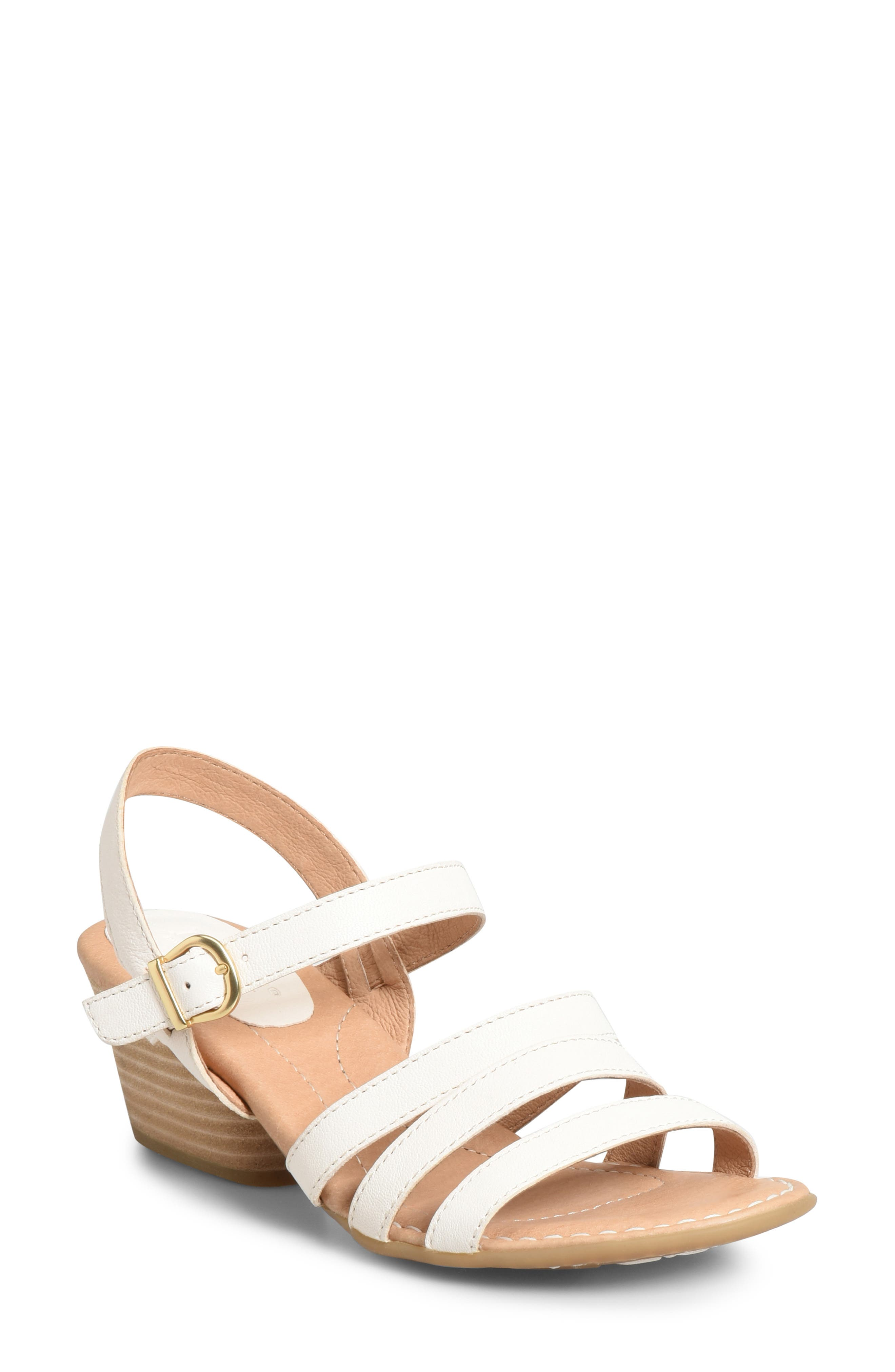 B?rn Lasal Sandal, White