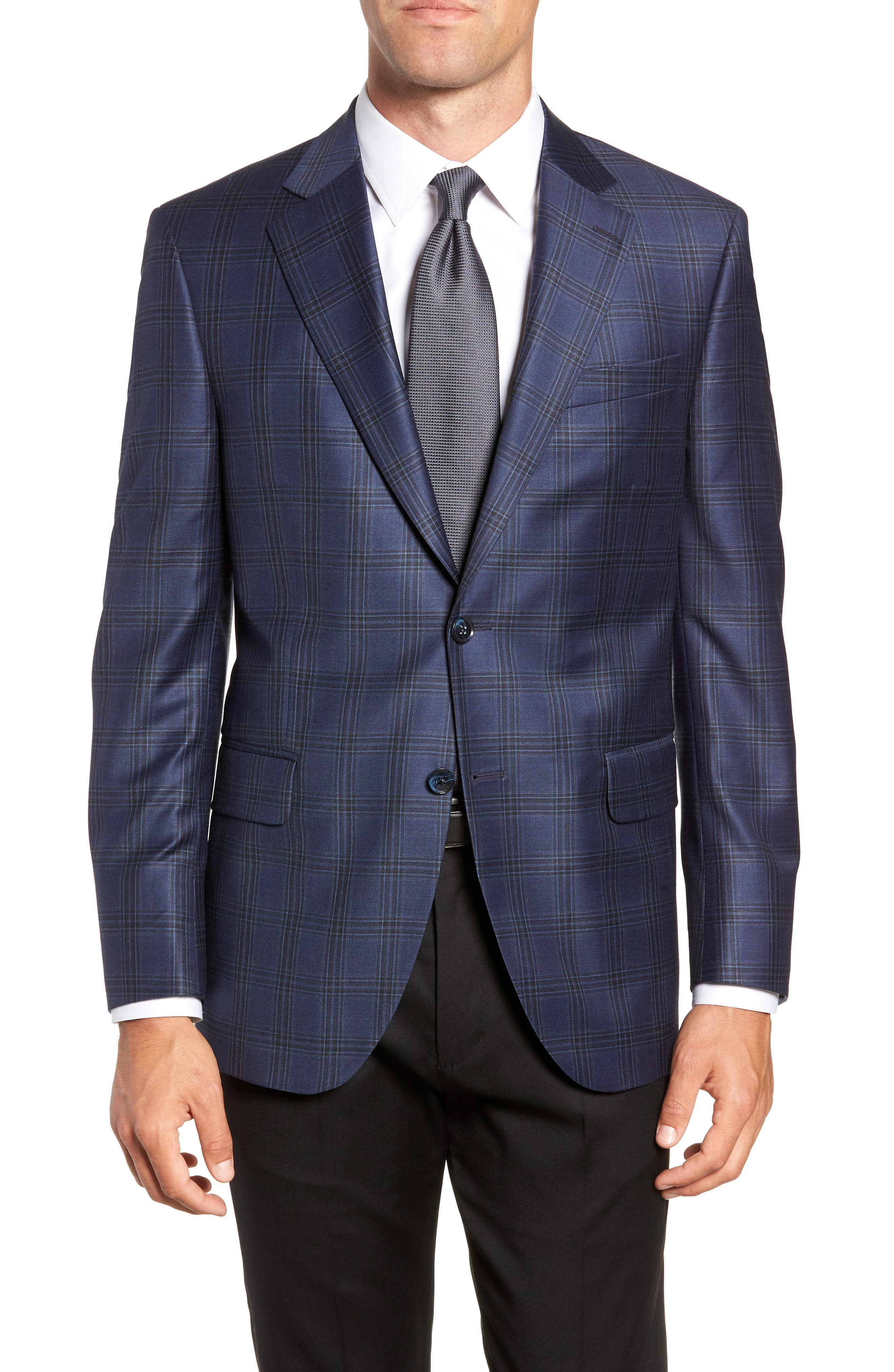 Flynn Classic Fit Wool Sport Coat,                         Main,                         color, 410