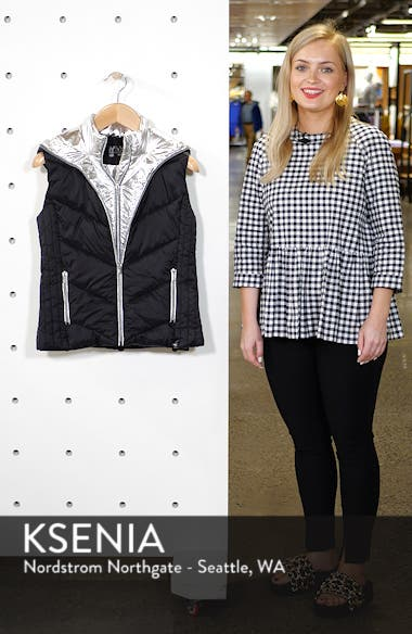 Hooded Puffer Vest, sales video thumbnail