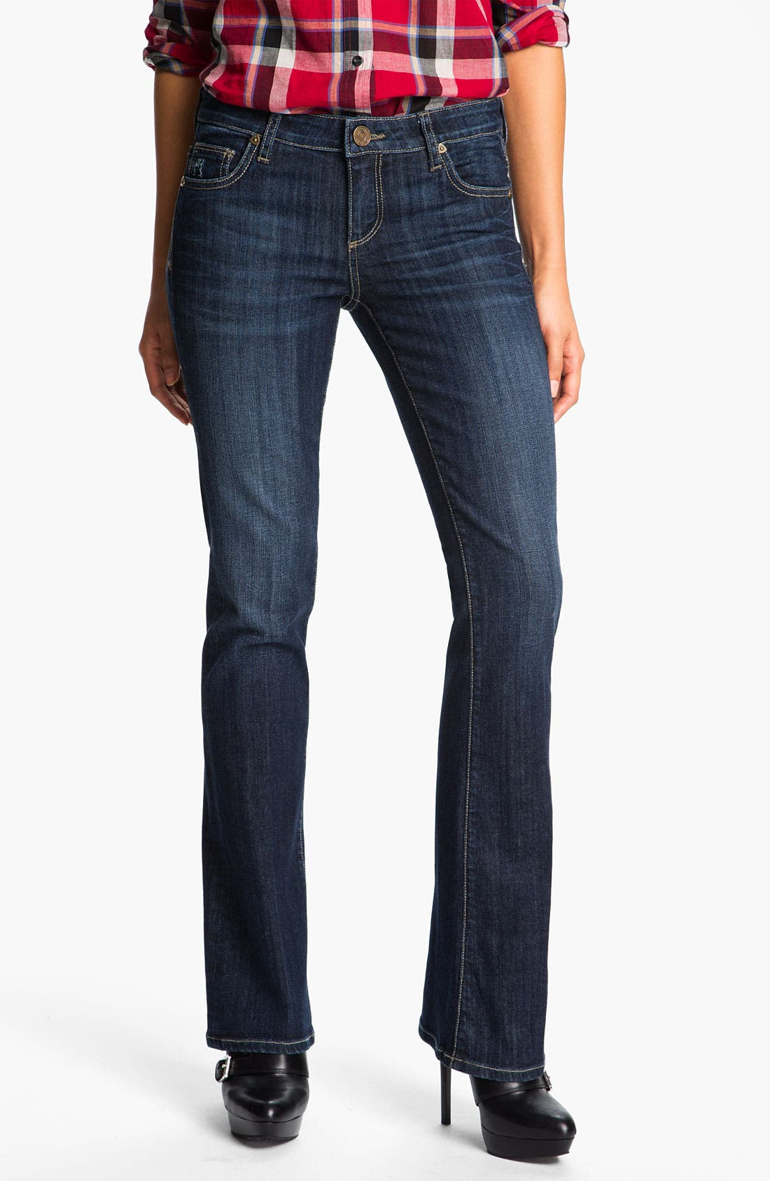 Baby Bootcut Jeans,                             Main thumbnail 1, color,                             400