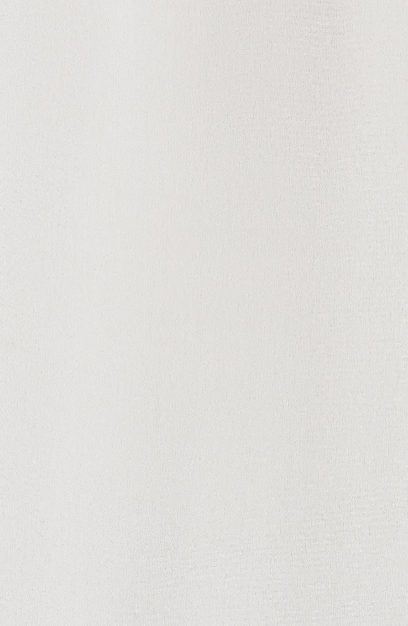 FRAME,                             Pleated Peplum Blouse,                             Alternate thumbnail 5, color,                             900
