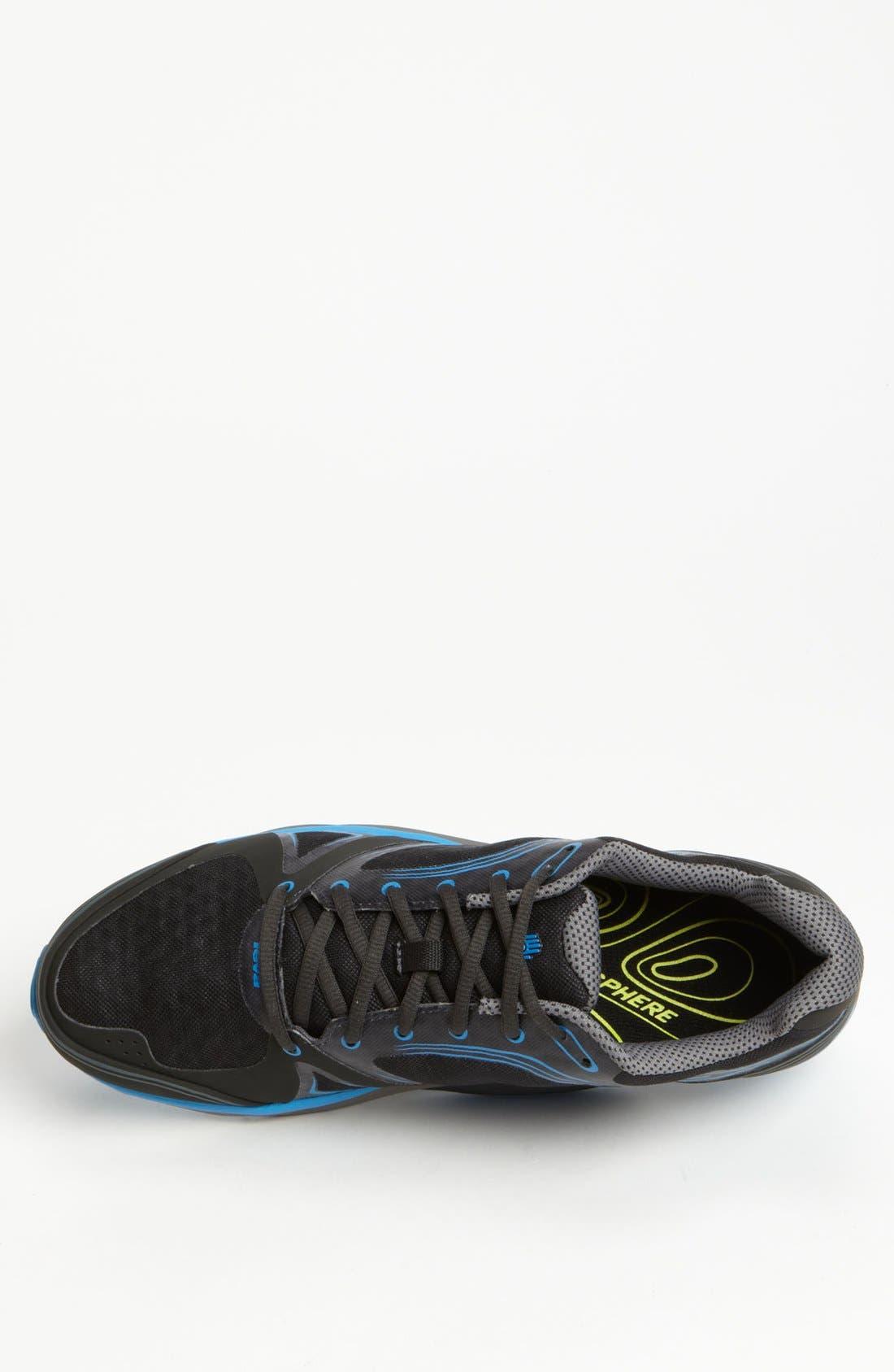 'TevaSphere Speed' Trail Running Shoe,                             Alternate thumbnail 4, color,                             001