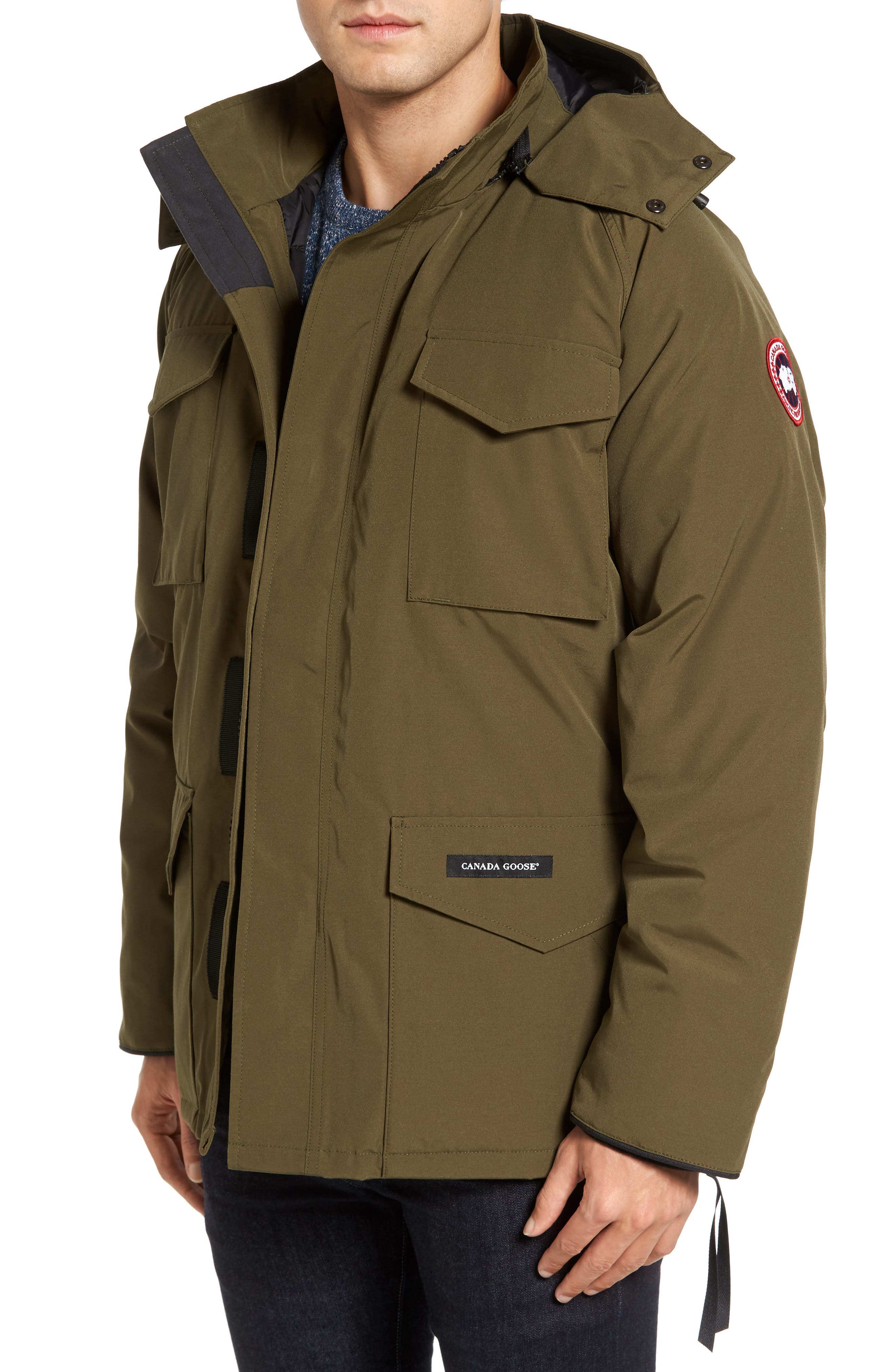 'Constable' Regular Fit Water Resistant Down Parka,                             Main thumbnail 3, color,