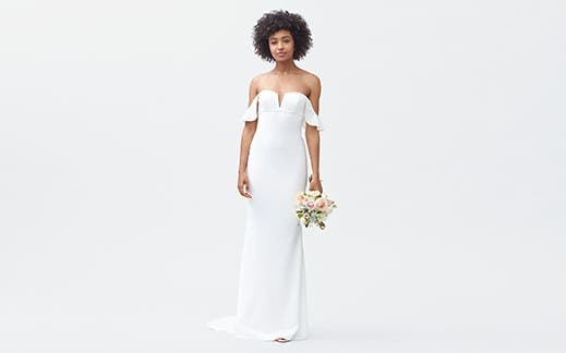 Find It Fast Shop Wedding Dresses By Style Modern Boho And Ball Gowns