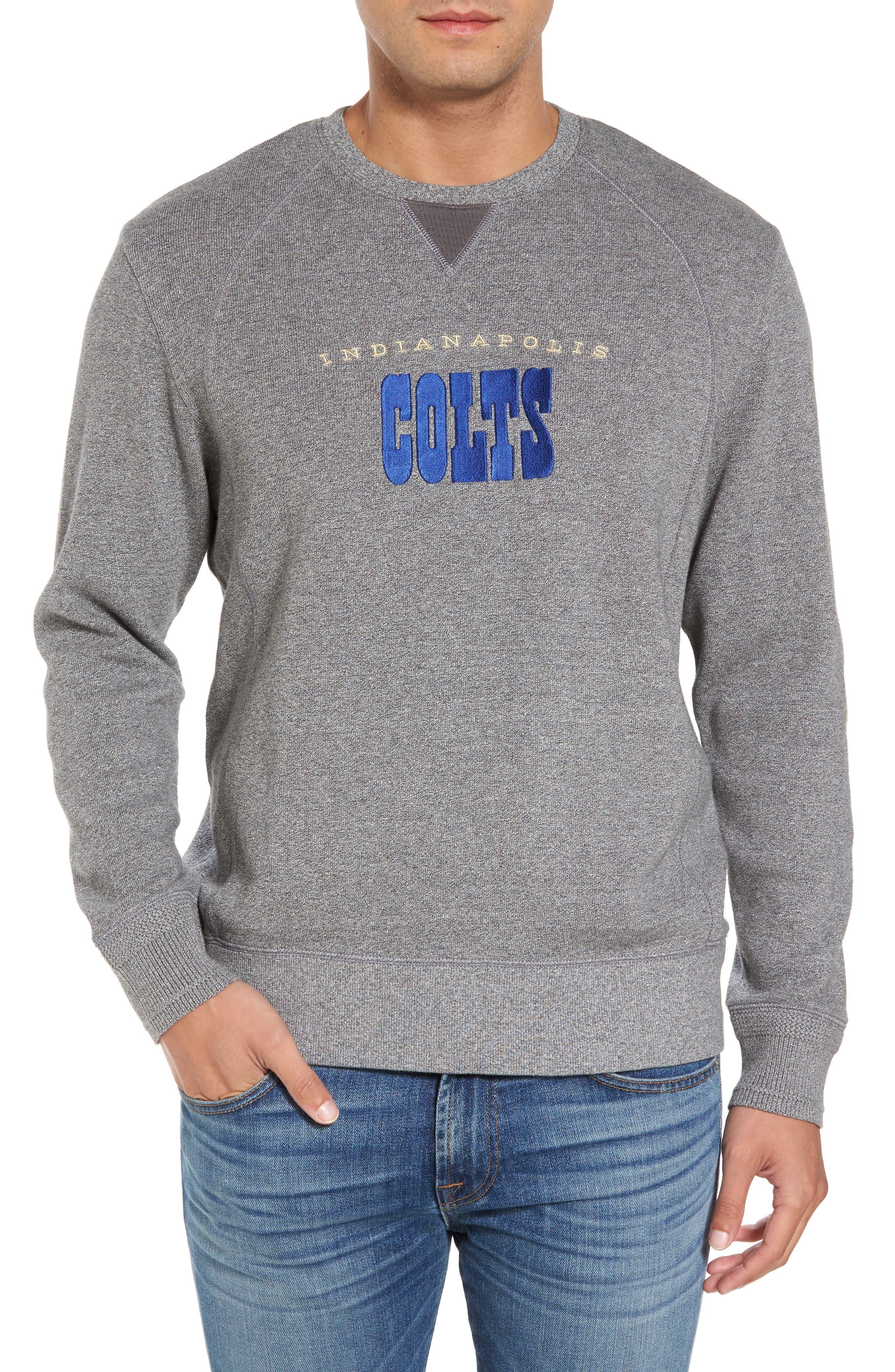 NFL Stitch of Liberty Embroidered Crewneck Sweatshirt,                             Main thumbnail 11, color,