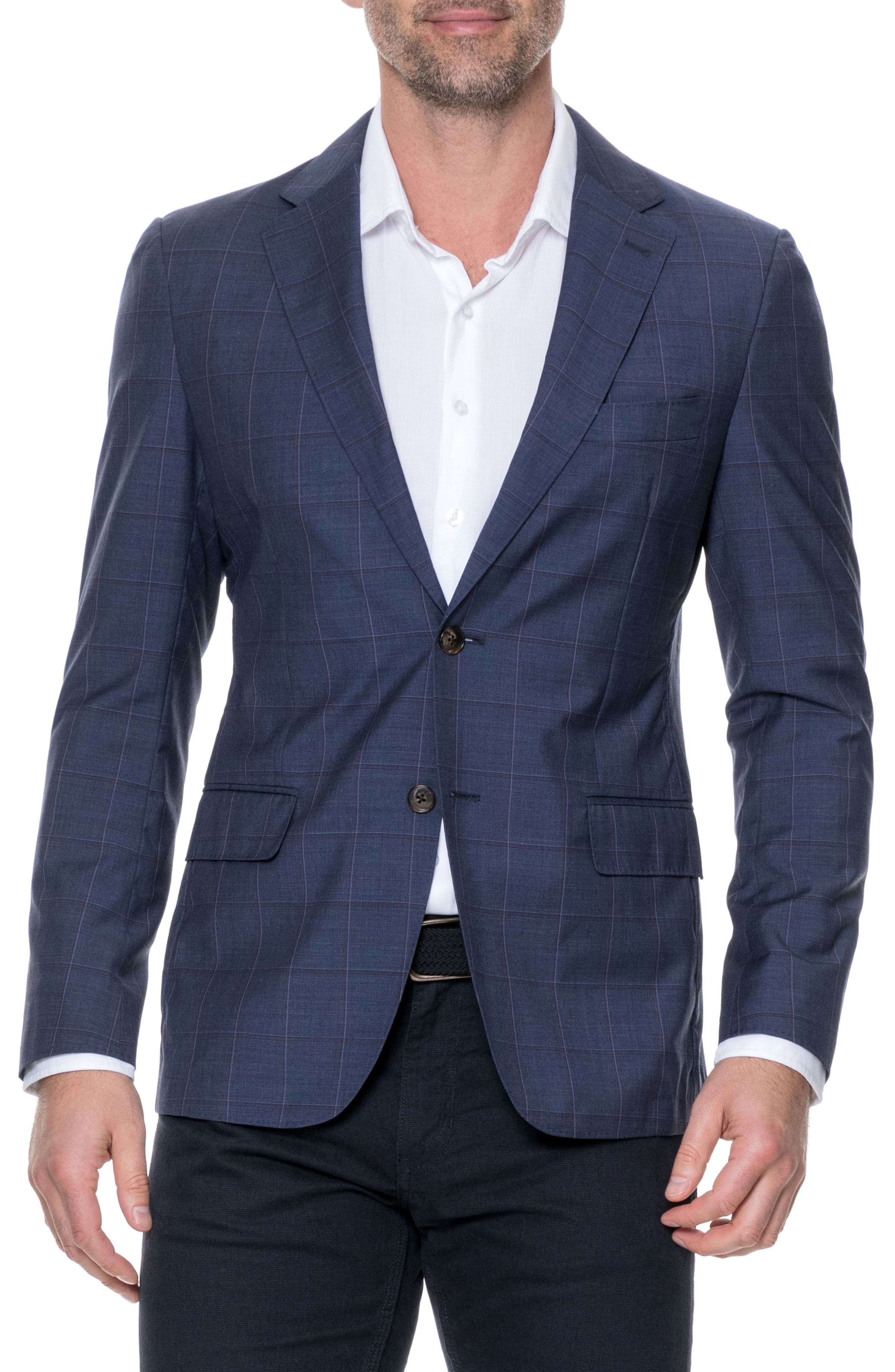Luxbridge Regular Fit Wool Sport Coat,                         Main,                         color, 412