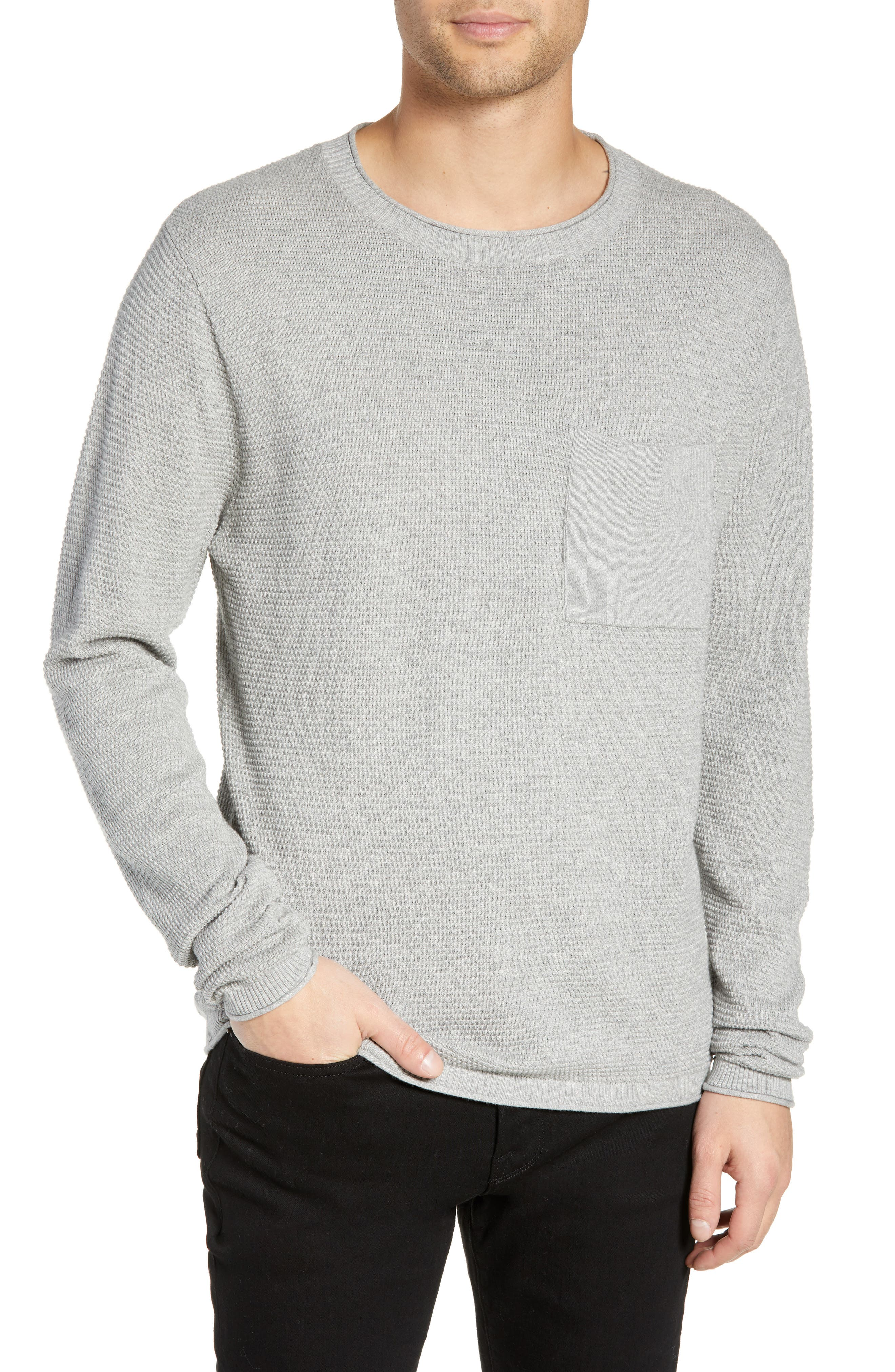 Kevin Sweater, Main, color, ASH HEATHER