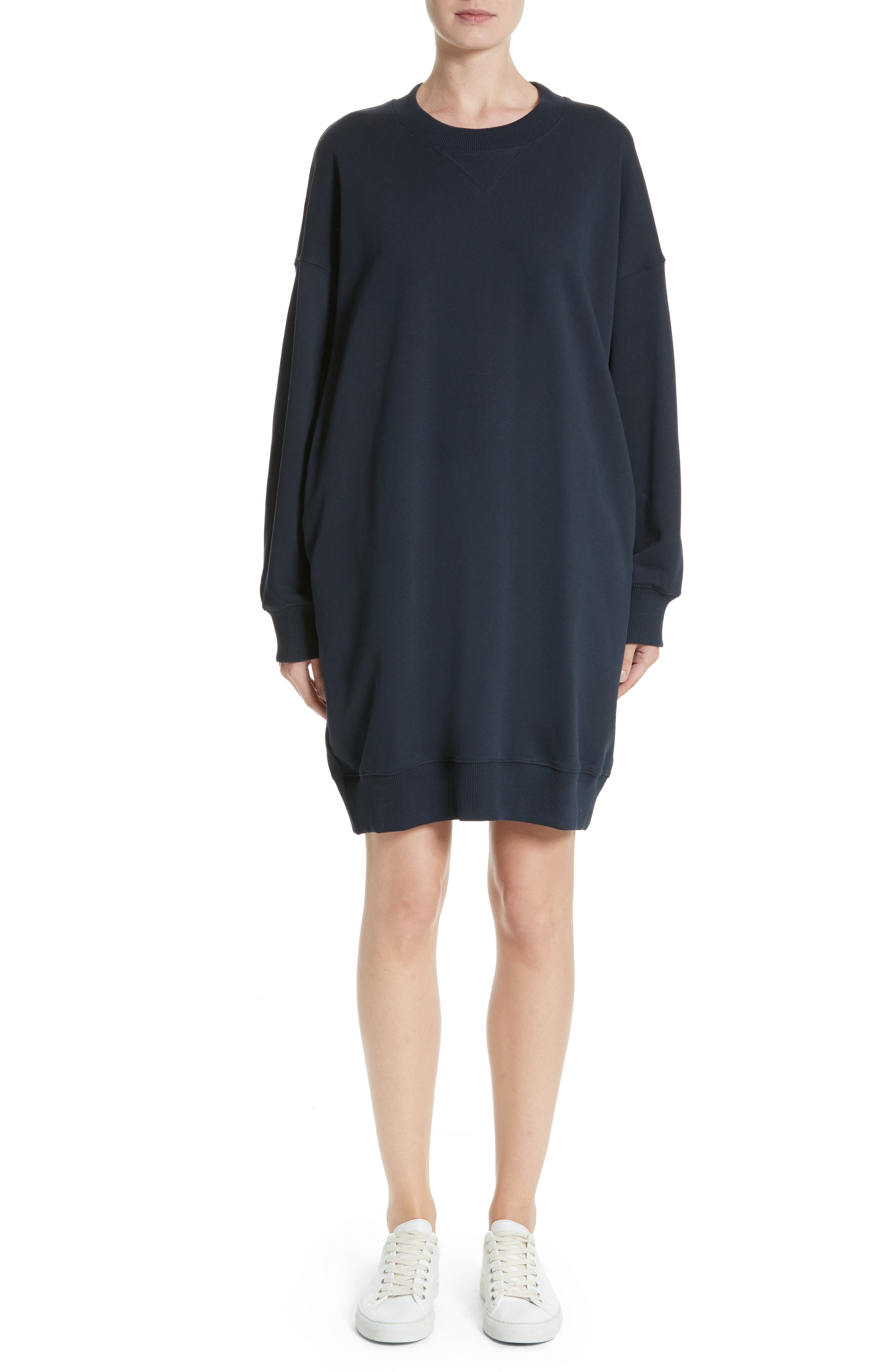 Sweatshirt Dress,                             Main thumbnail 1, color,                             410