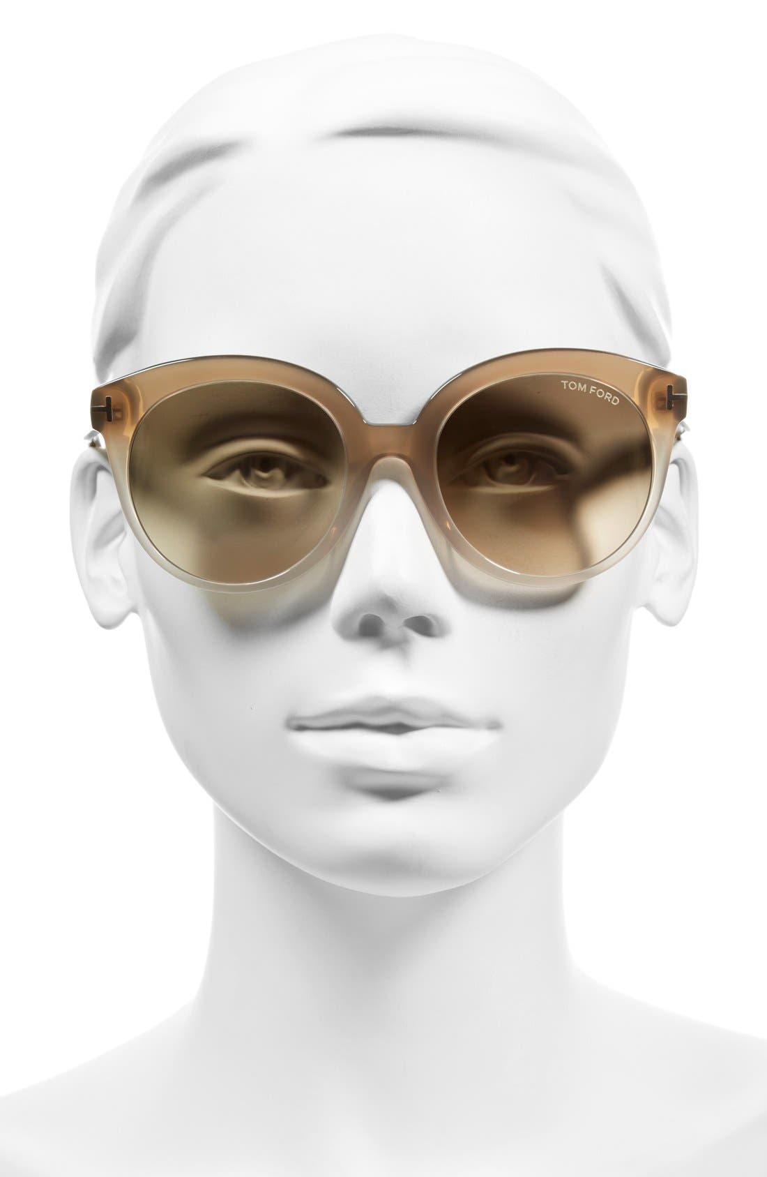'Monica' 54mm Retro Sunglasses,                             Alternate thumbnail 7, color,