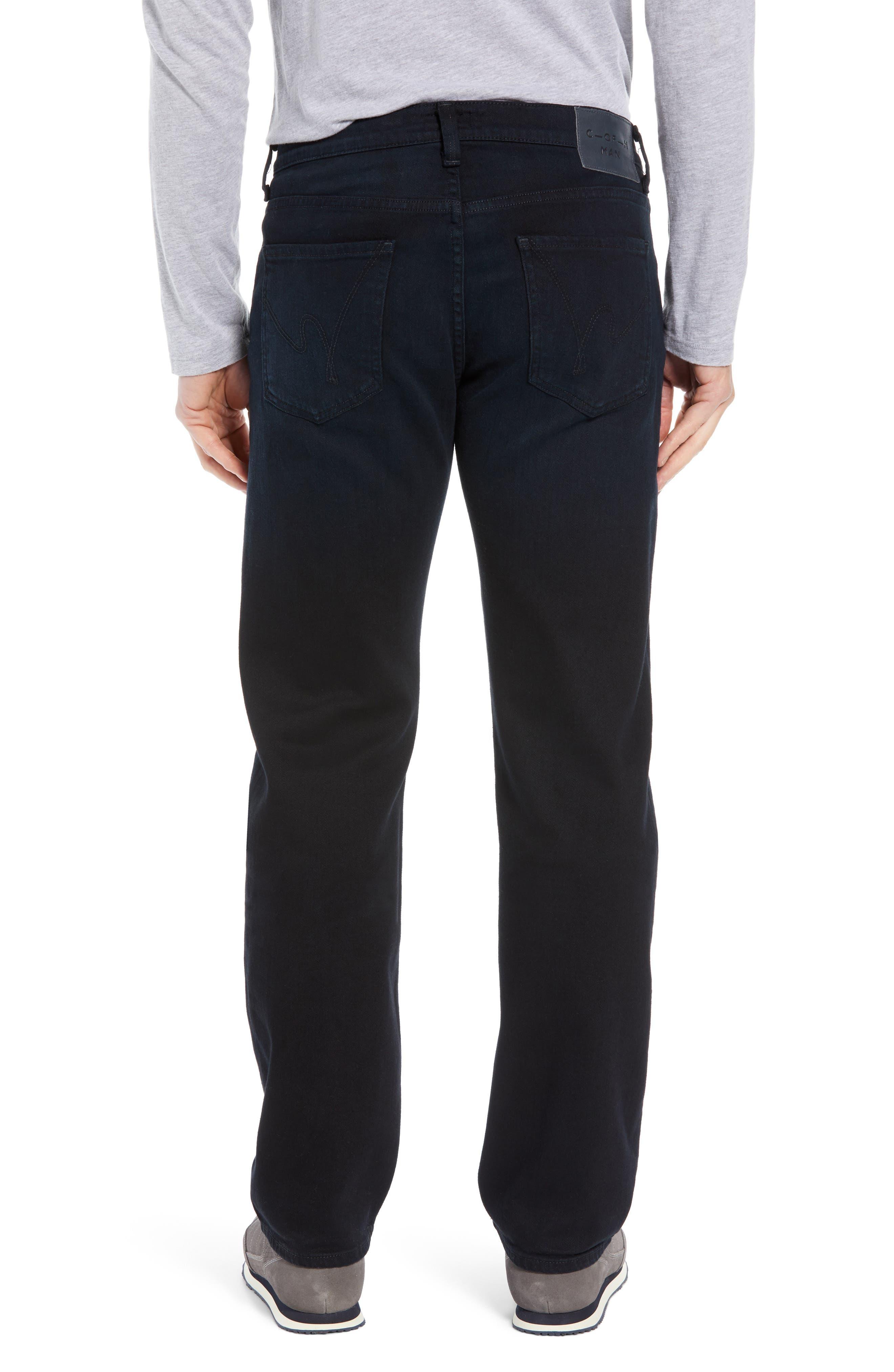 Sid Straight Leg Jeans,                             Alternate thumbnail 2, color,                             BELVIN