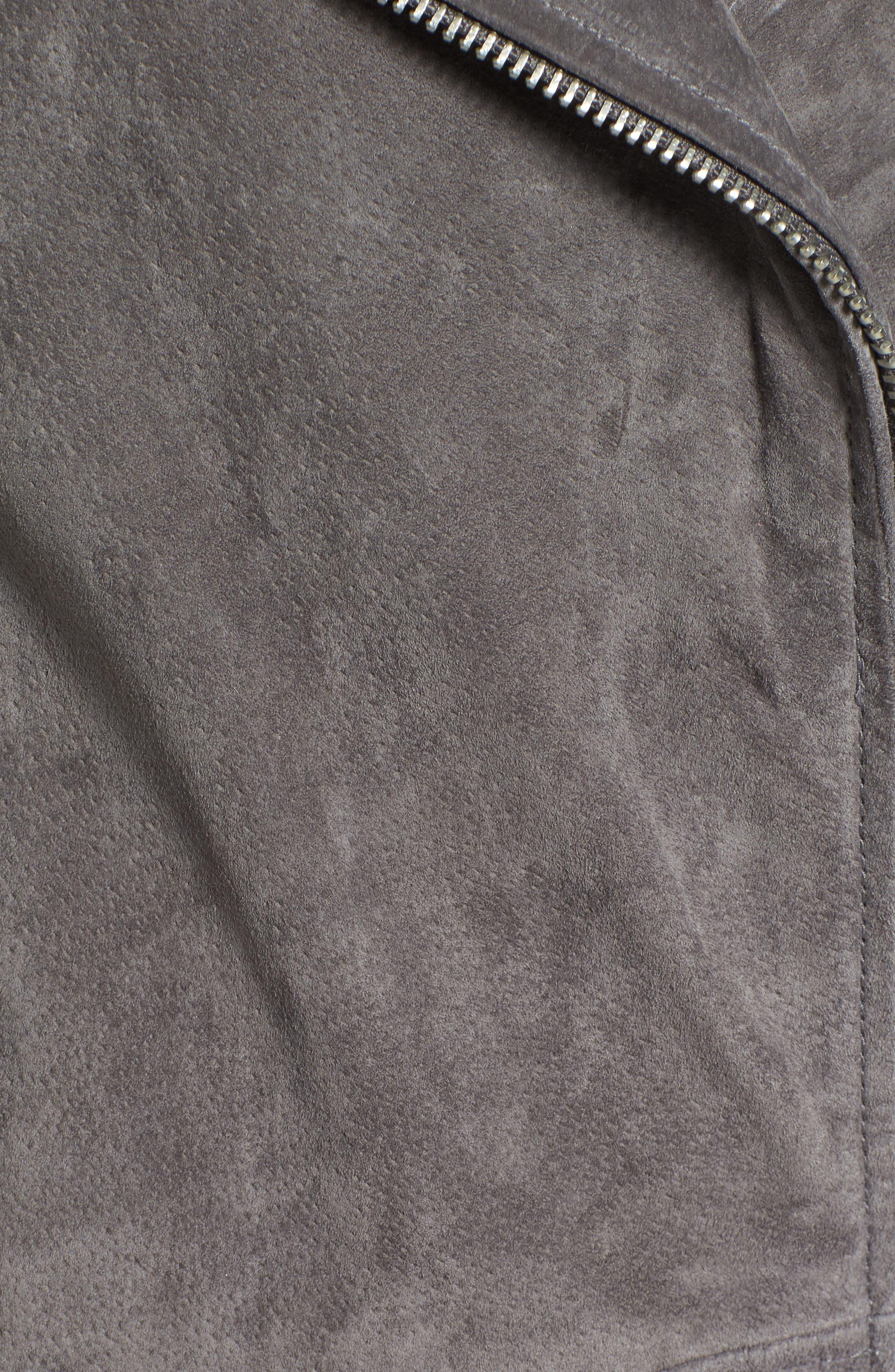 Suede Moto Jacket,                             Alternate thumbnail 51, color,