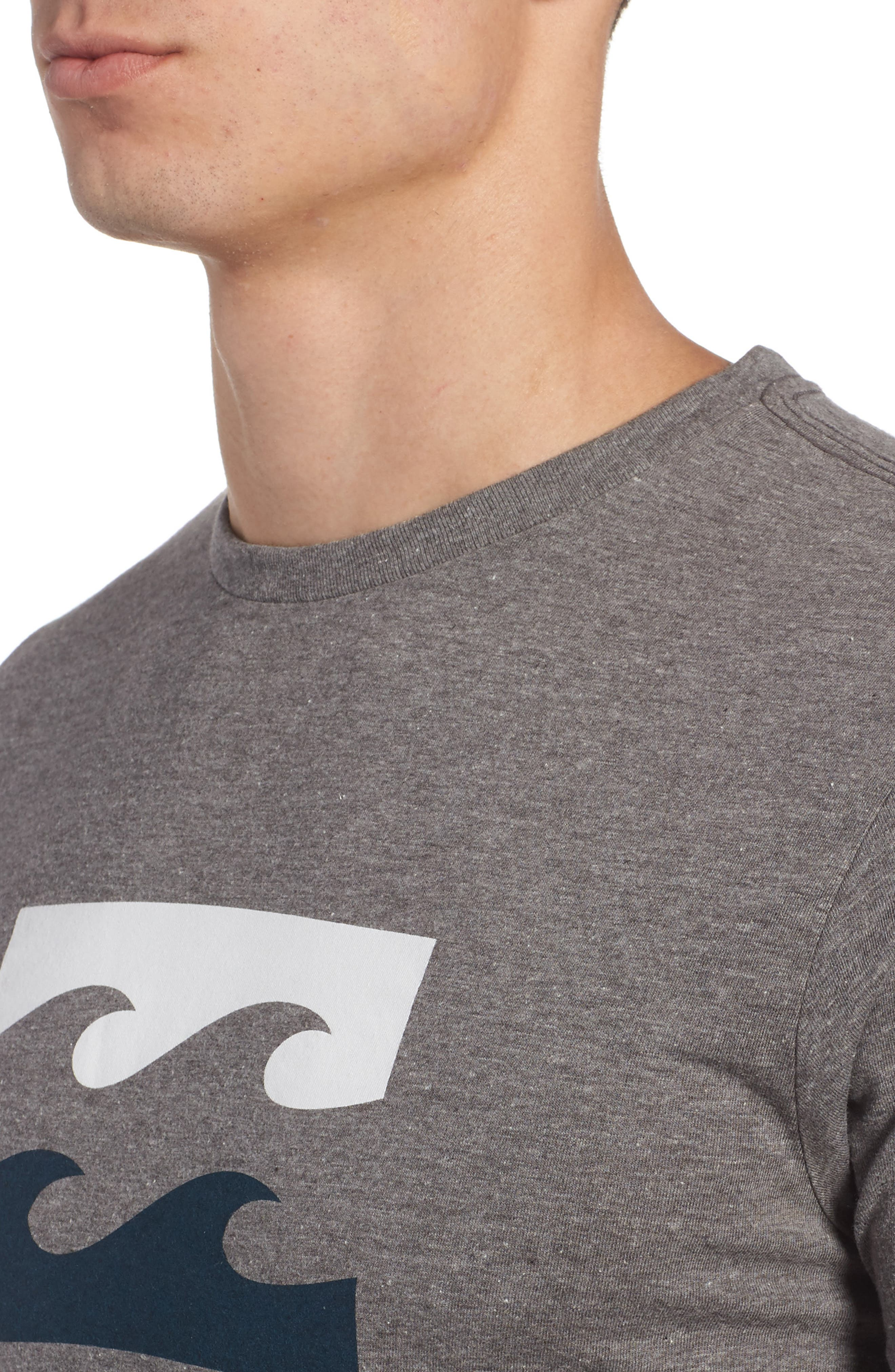 Wave Graphic T-Shirt,                             Alternate thumbnail 4, color,                             025
