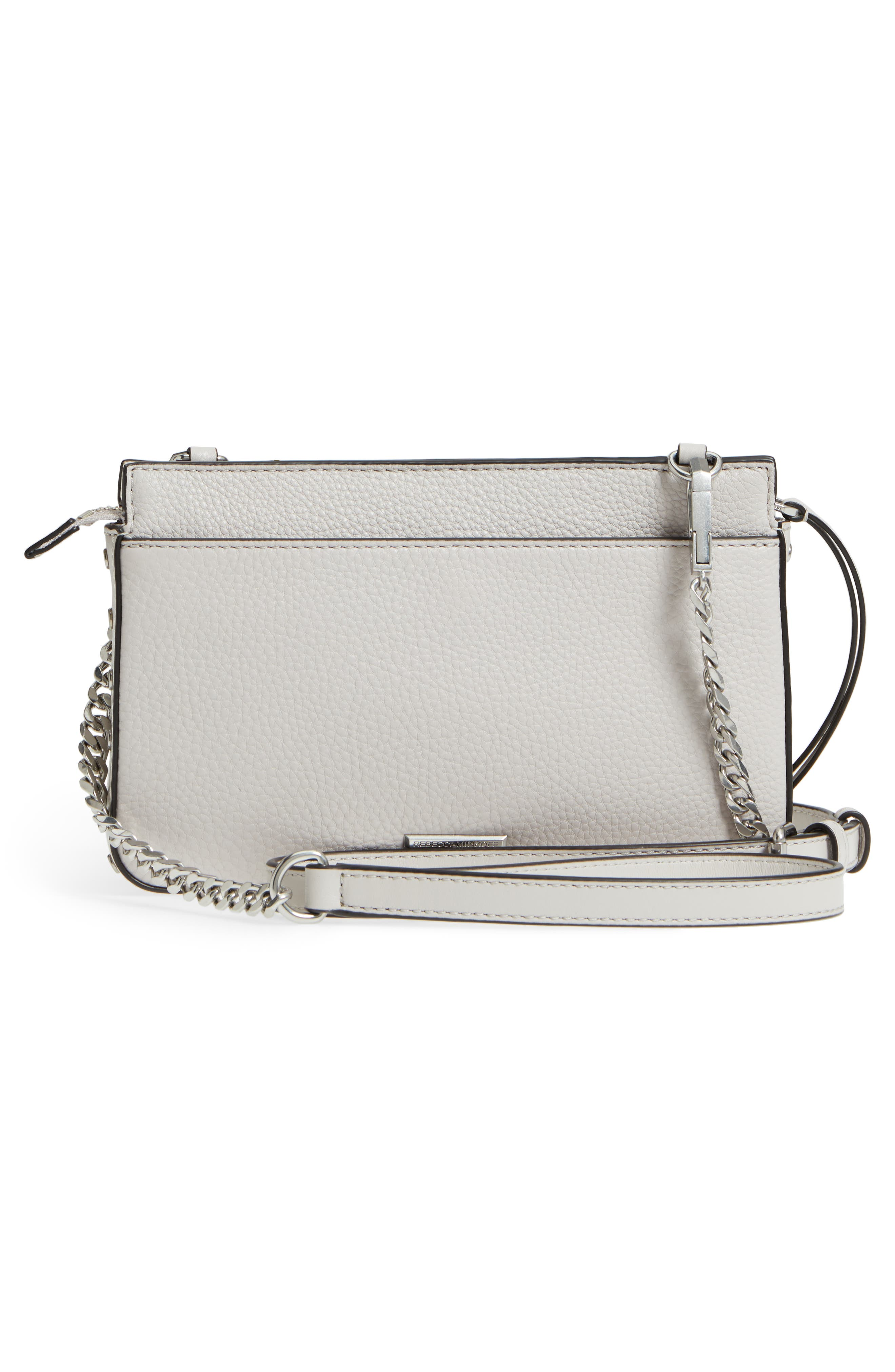 Small Bree Leather Crossbody Bag,                             Alternate thumbnail 6, color,