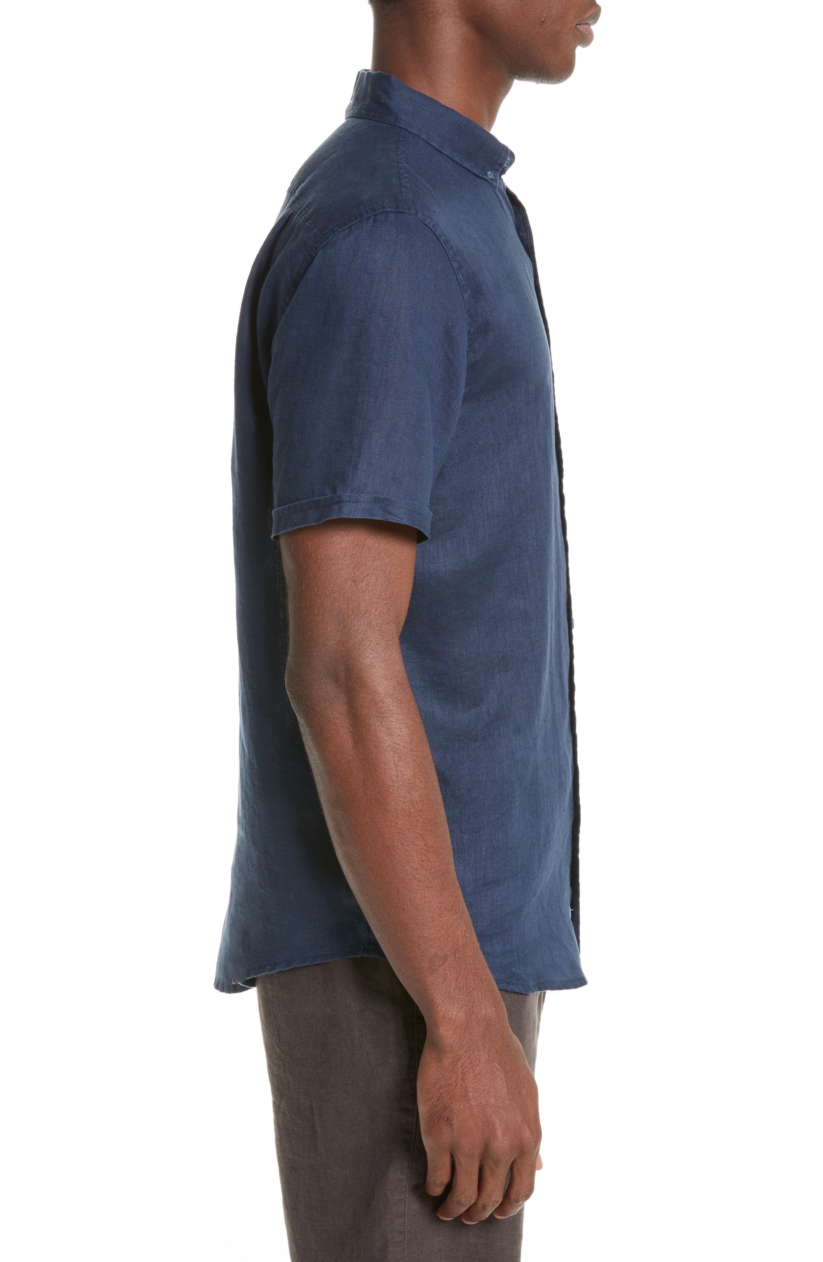 Jack Linen Sport Shirt,                             Alternate thumbnail 3, color,                             419
