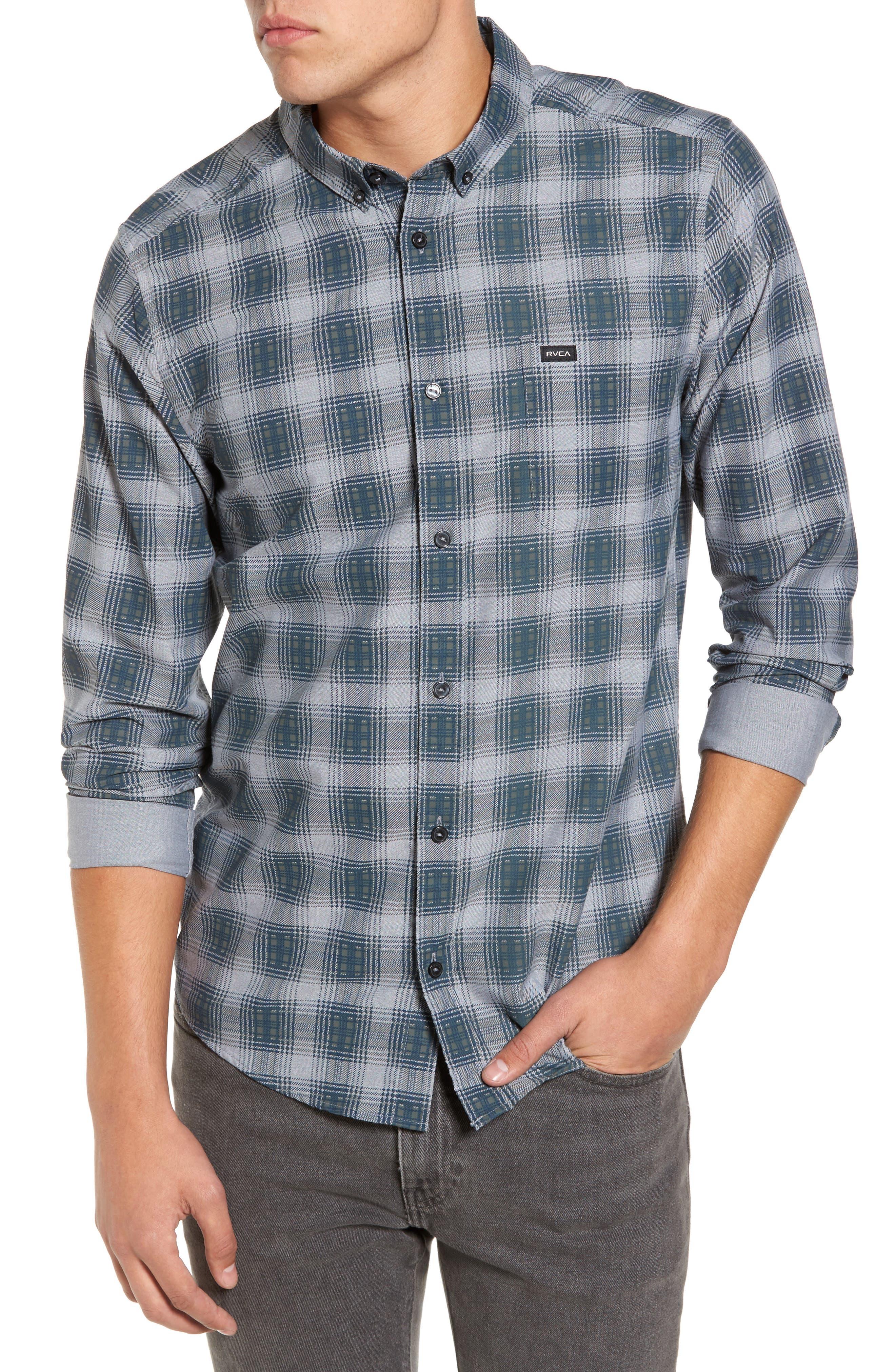 That'll Do Plaid Shirt,                         Main,                         color, 022