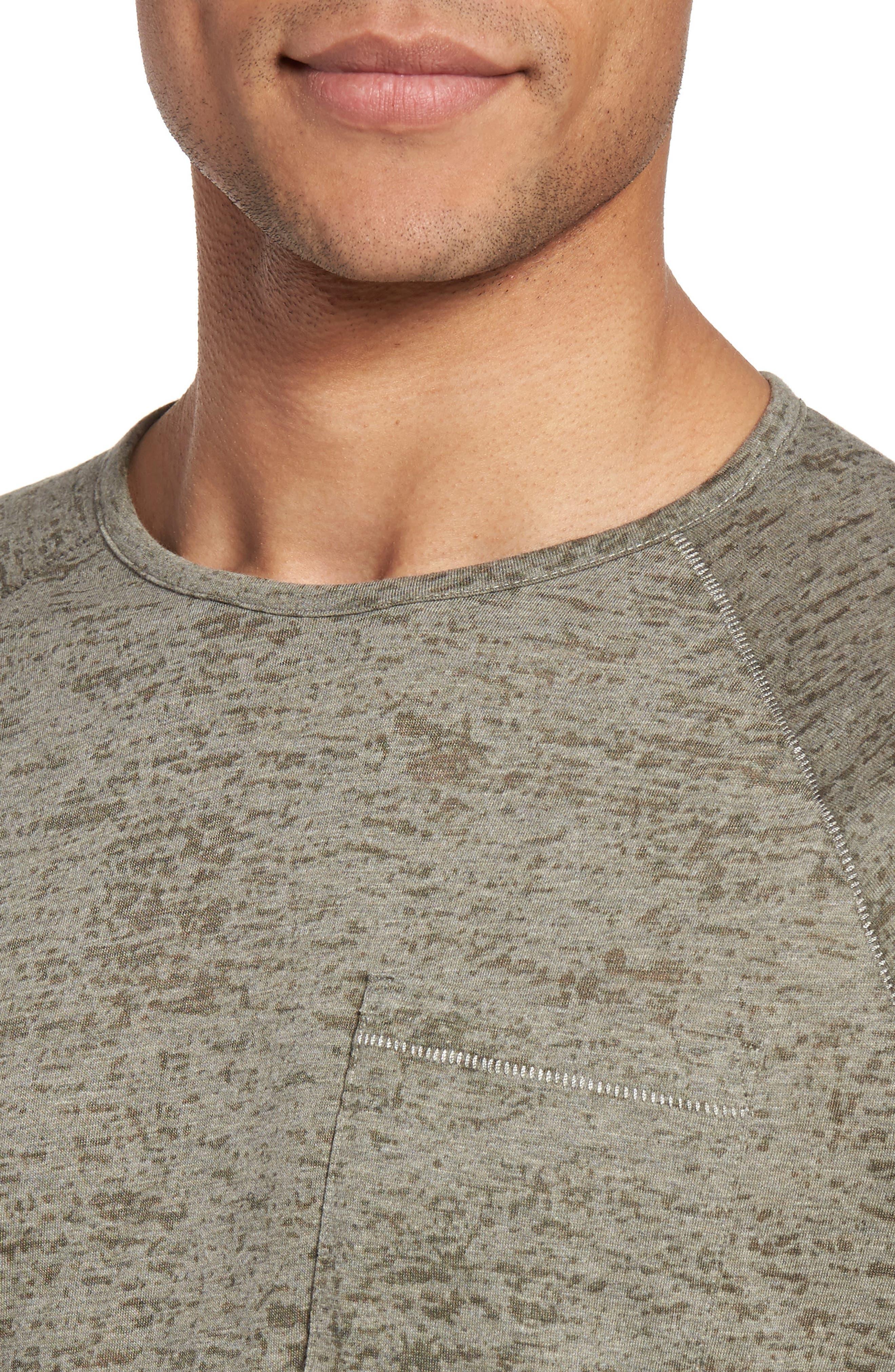 Raglan Sleeve T-Shirt,                             Alternate thumbnail 4, color,                             332
