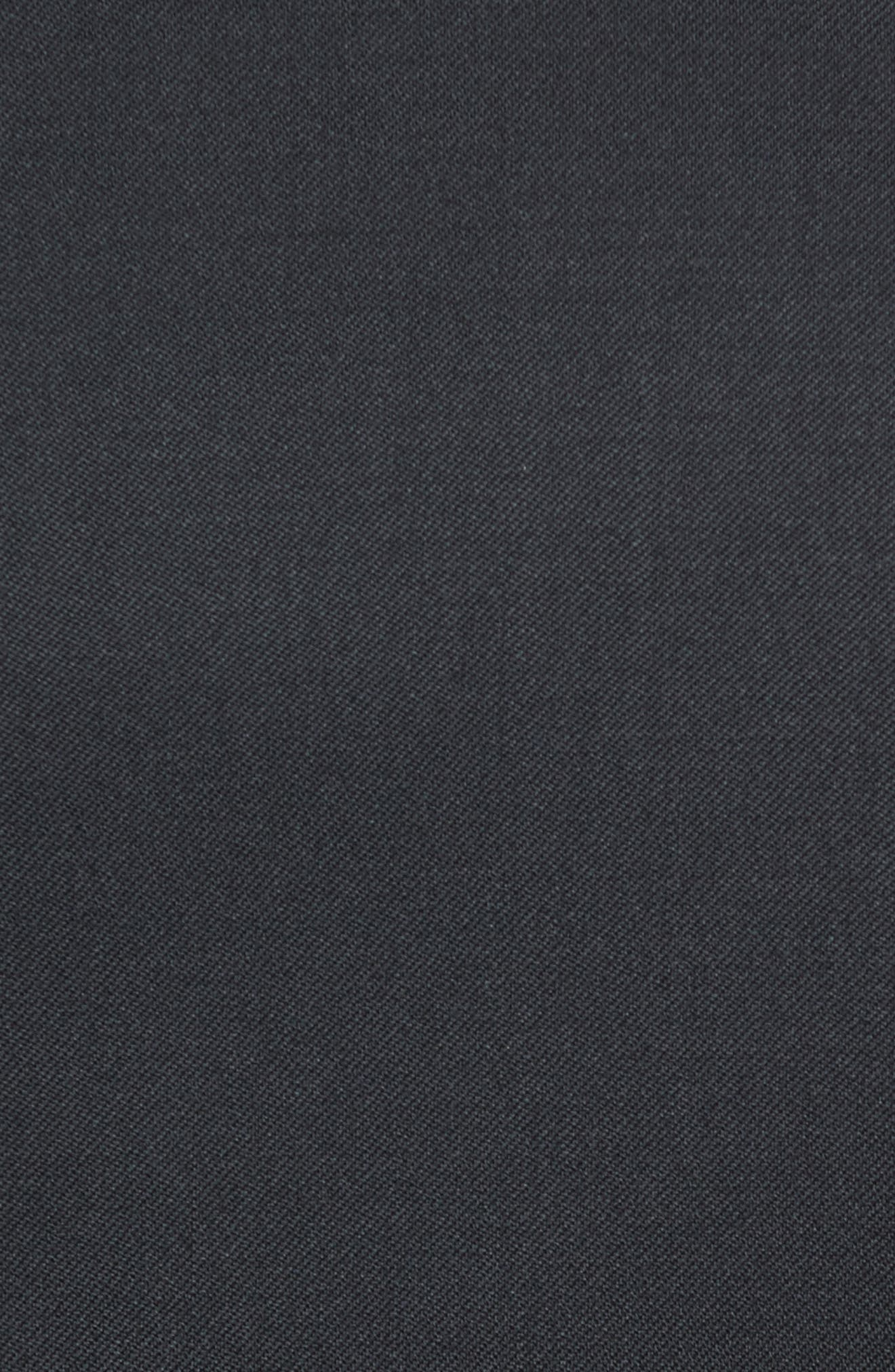 Russell Classic Fit Loro Piana Wool Tuxedo,                             Alternate thumbnail 4, color,                             BLACK