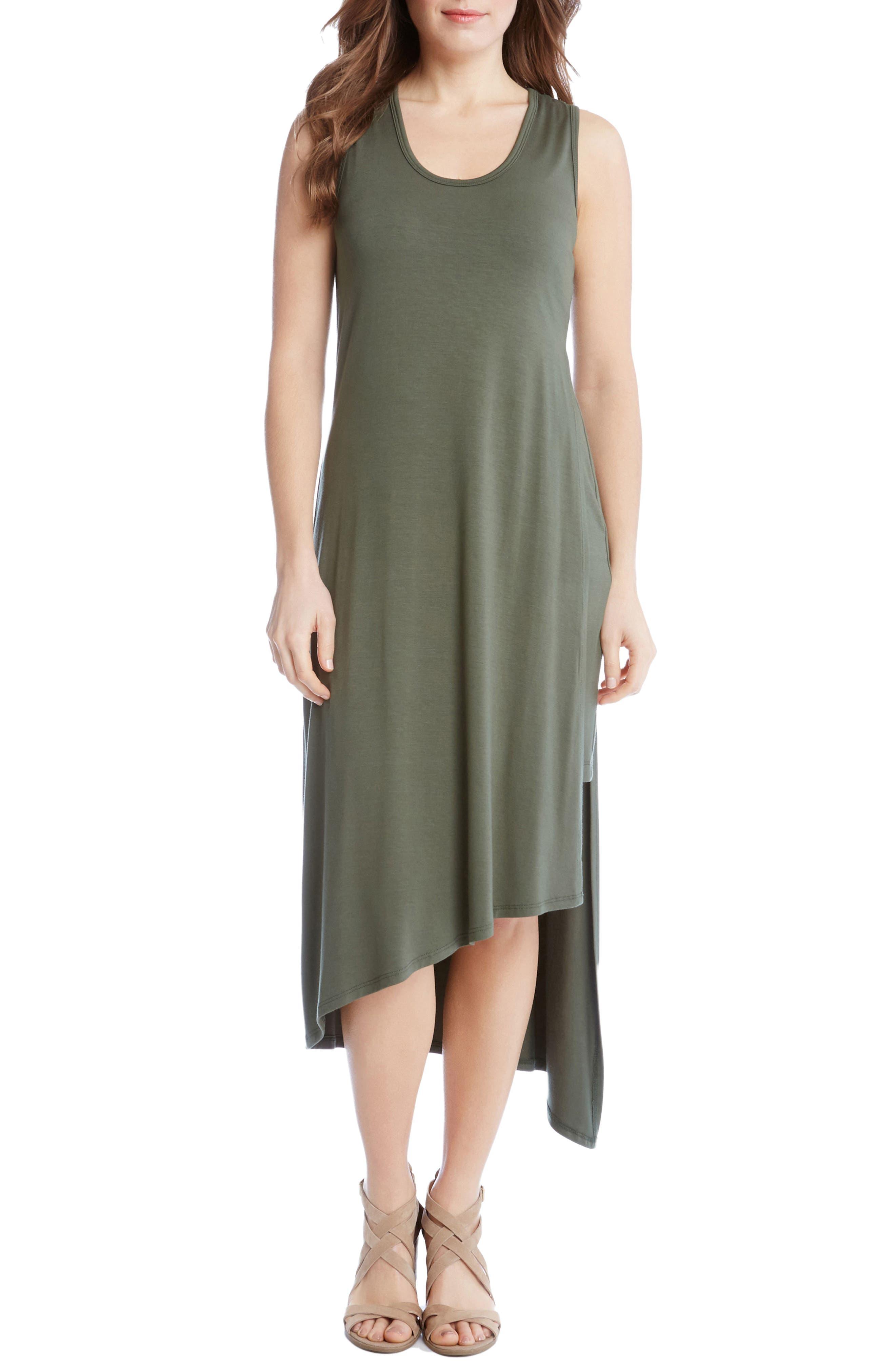 Stevie Asymmetrical Hem Tank Dress,                         Main,                         color,