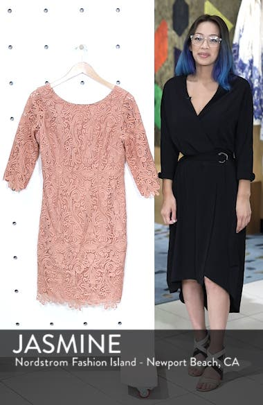 Lace Sheath Dress, sales video thumbnail